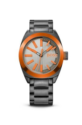 '1513057' | Steel Bracelet Strap 3-Hand Quartz London Watch, Assorted-Pre-Pack