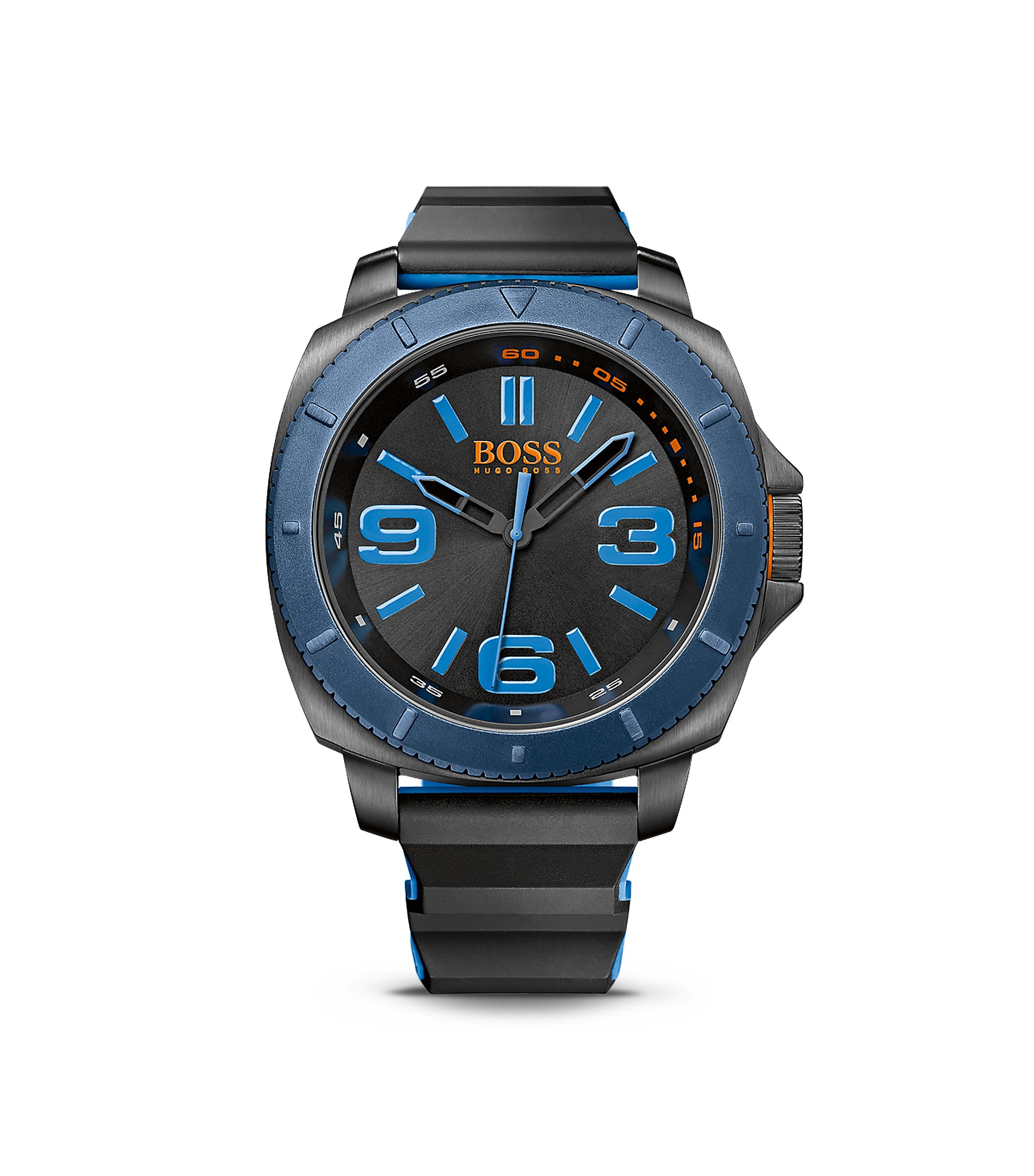 '1513108' | Silicone Strap 3-Hand Quartz Sao Paulo Watch , Assorted-Pre-Pack