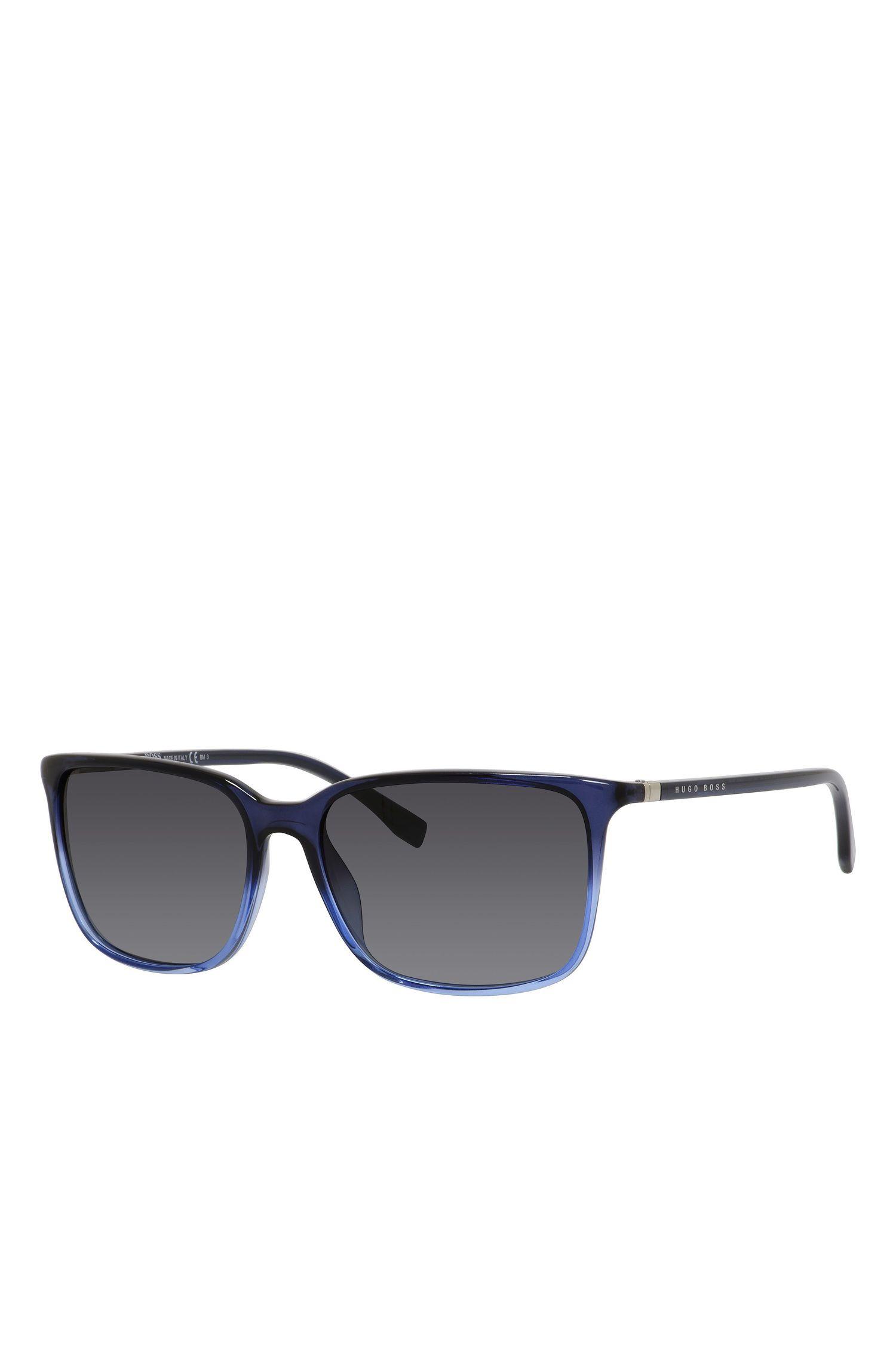 'BOSS 0666S' | Gradient Lens Rectangular Sunglasses