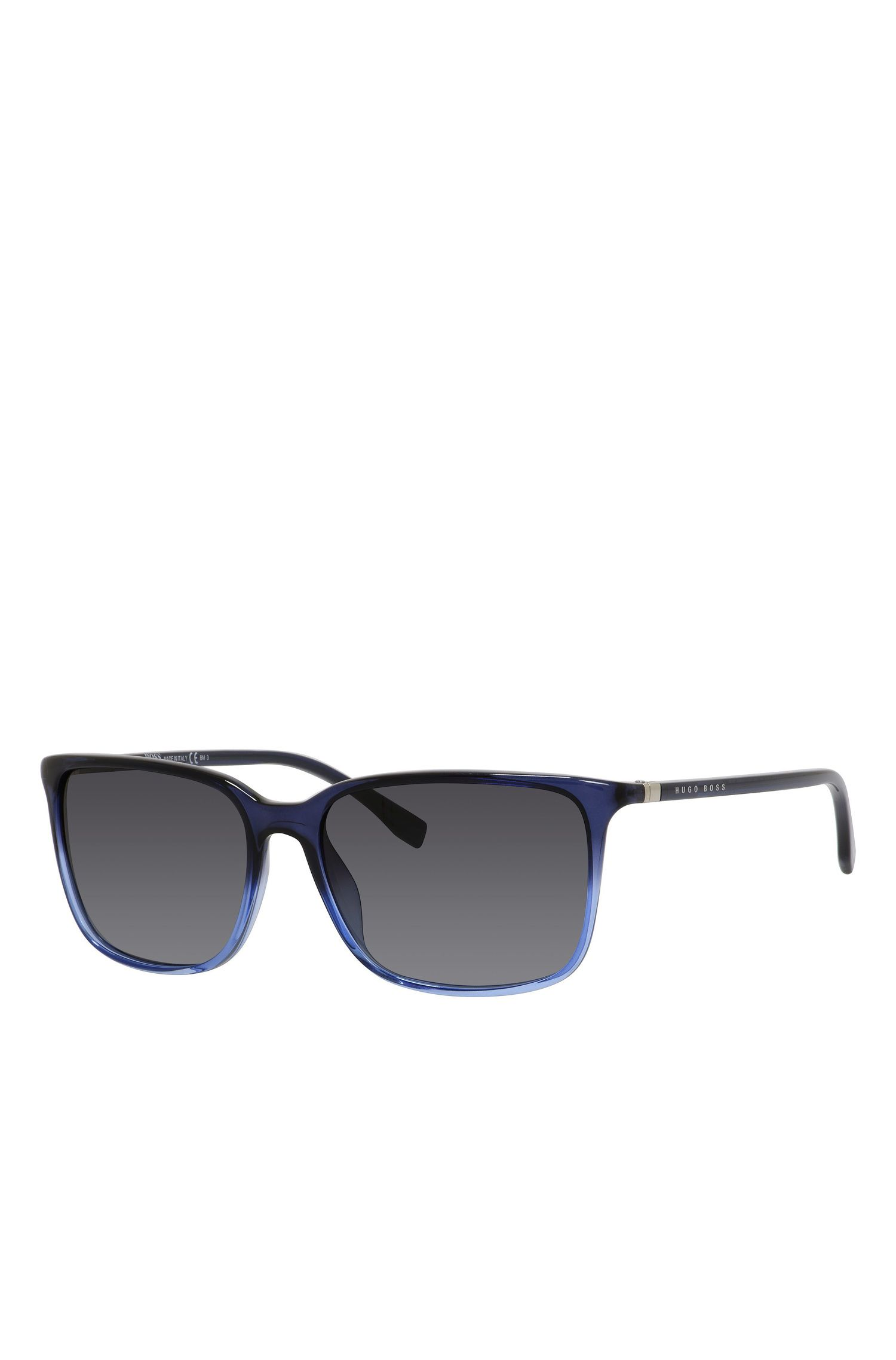 Gradient Lens Rectangular Sunglasses | BOSS 0666S