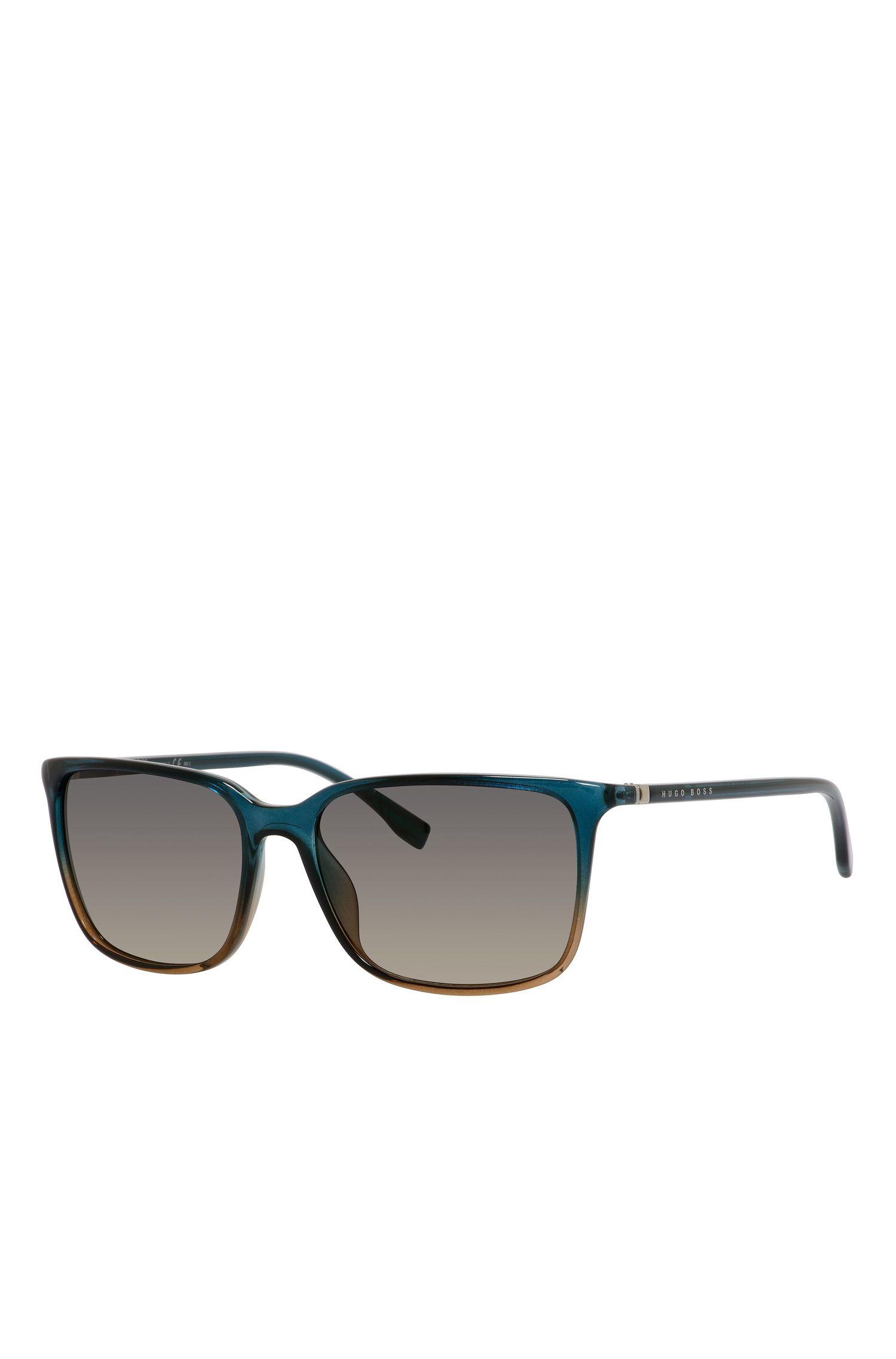 'BOSS 0666S'   Gradient Lens Rectangular Sunglasses