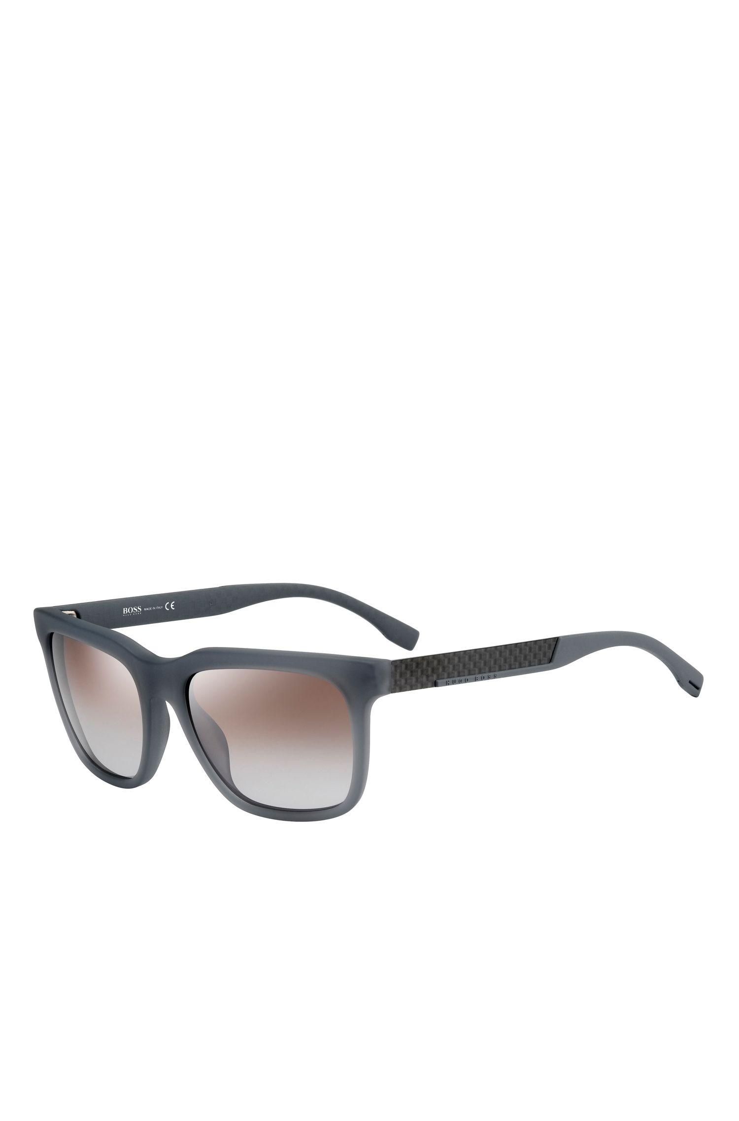 'BOSS 0670S'   Gradient Lens Rectangular Sunglasses