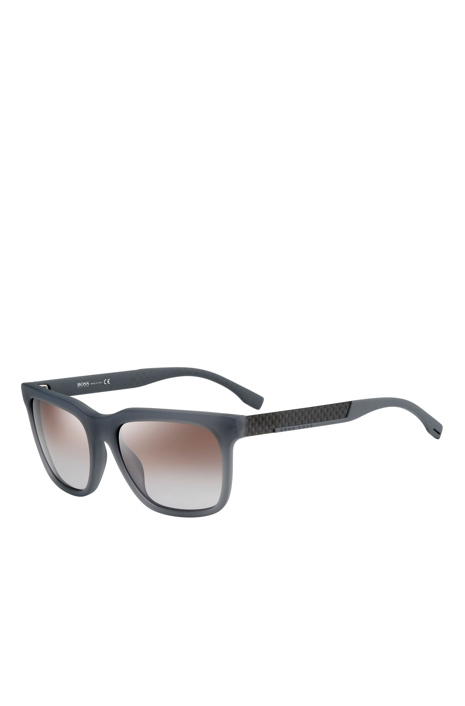 Gradient Lens Rectangular Sunglasses | BOSS 0670S