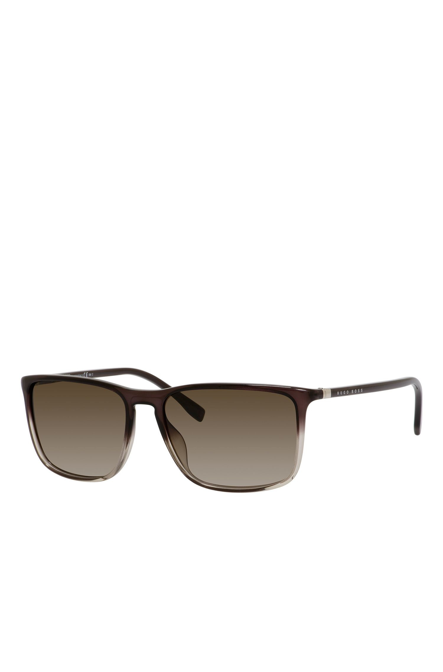 Gradient Lens Rectangular Sunglasses | BOSS 0665S
