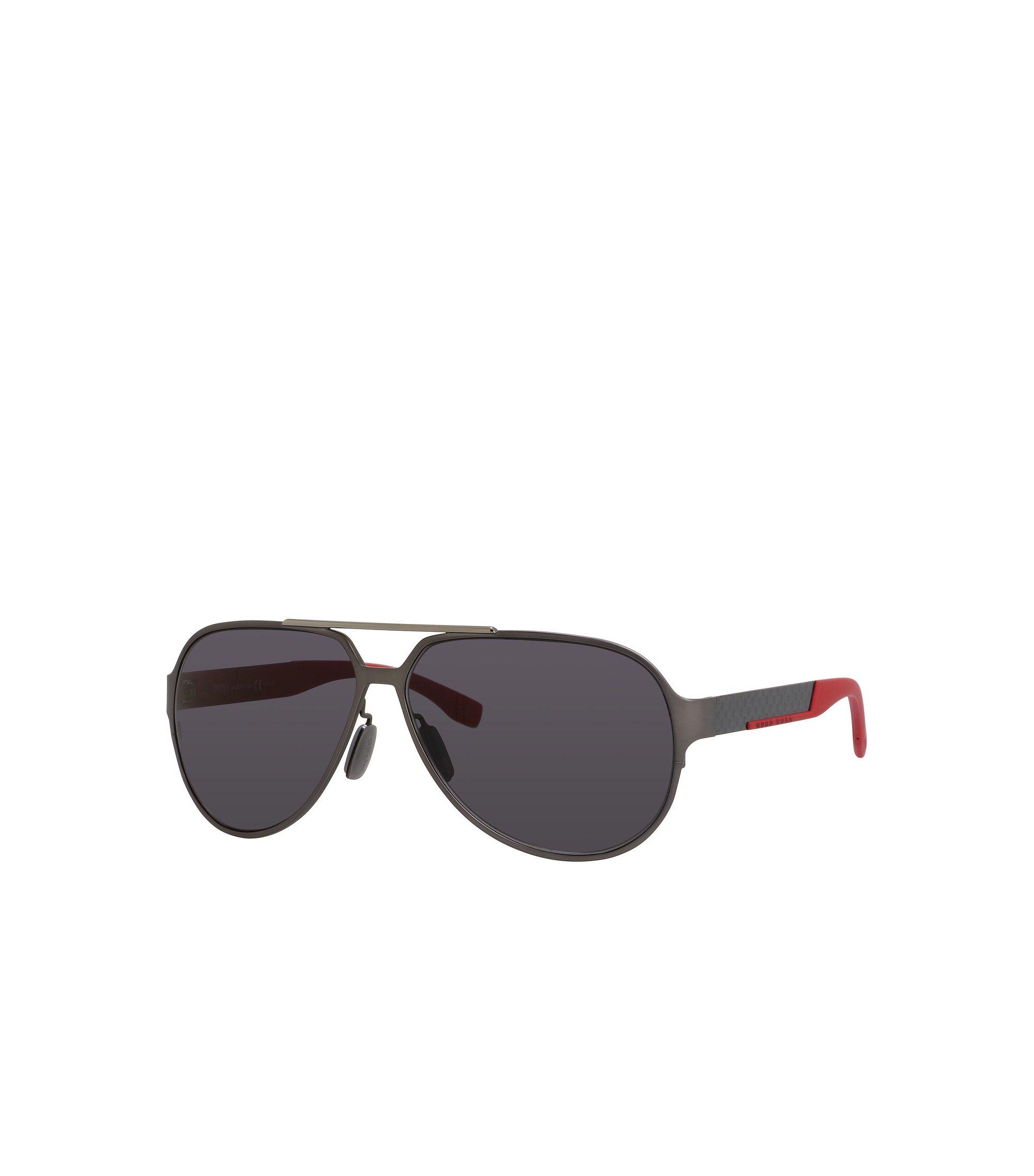 Black Lens Carbon Fiber Aviator Sunglasses | BOSS 0669S, Assorted-Pre-Pack