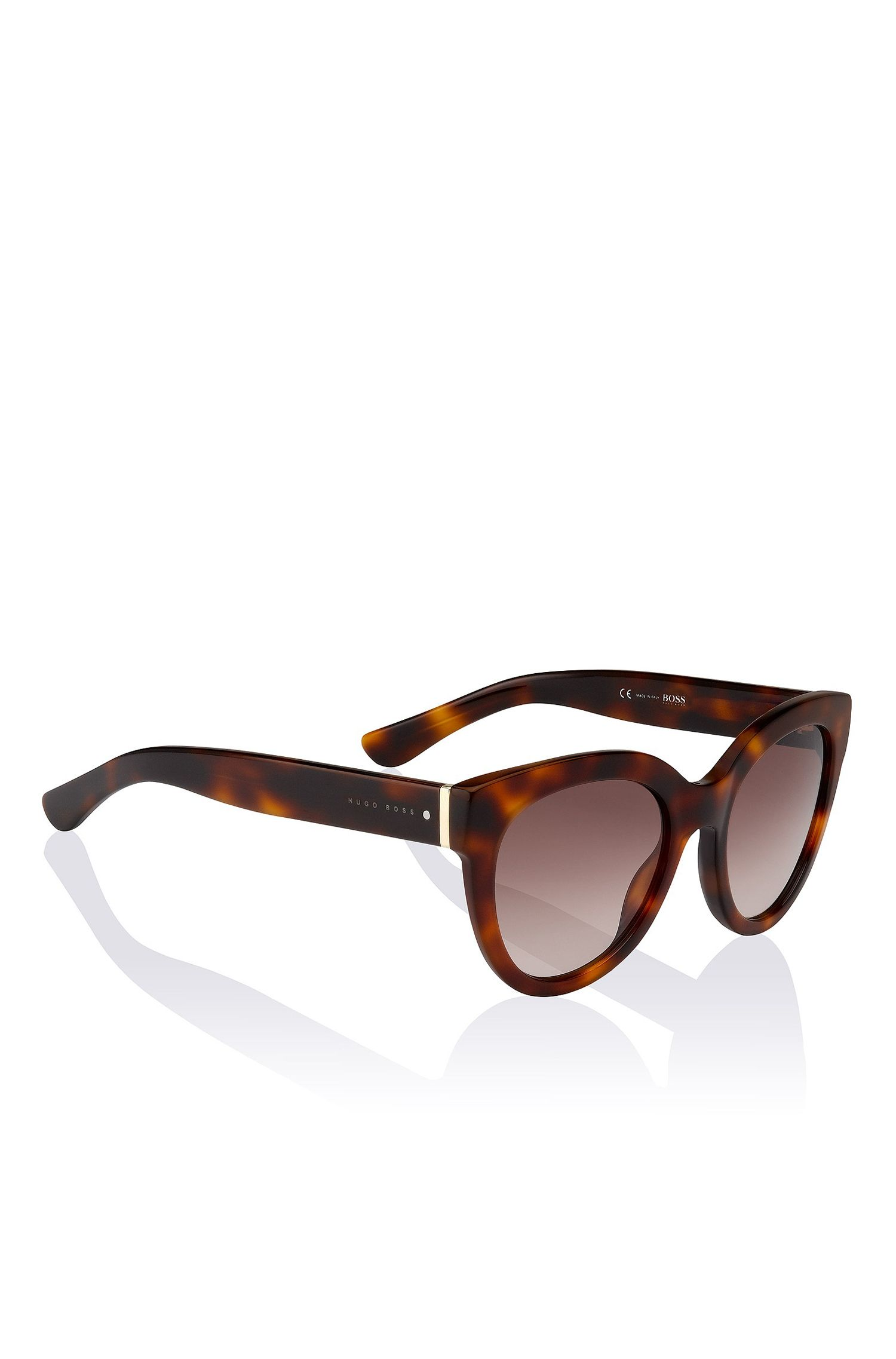 'BOSS 0675S' | Gradient Lens Cateye Sunglasses