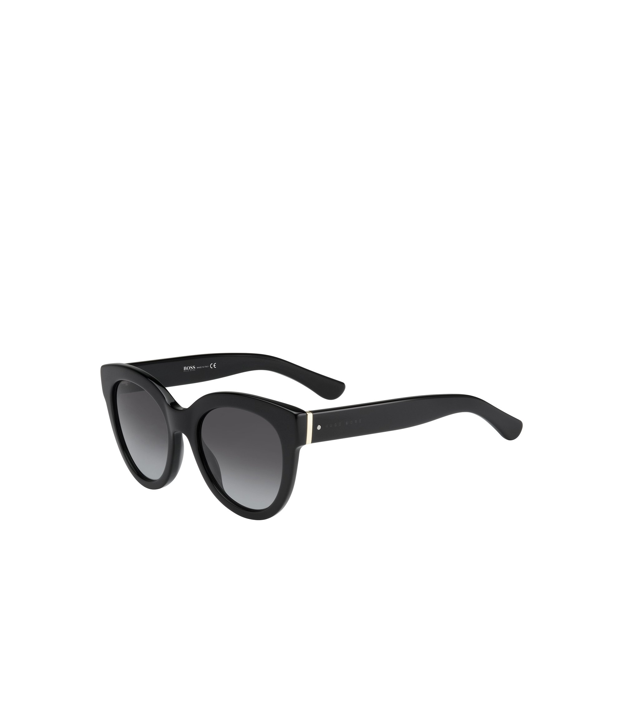 Black Gradient Lens Cateye Sunglasses | BOSS 0675S, Assorted-Pre-Pack