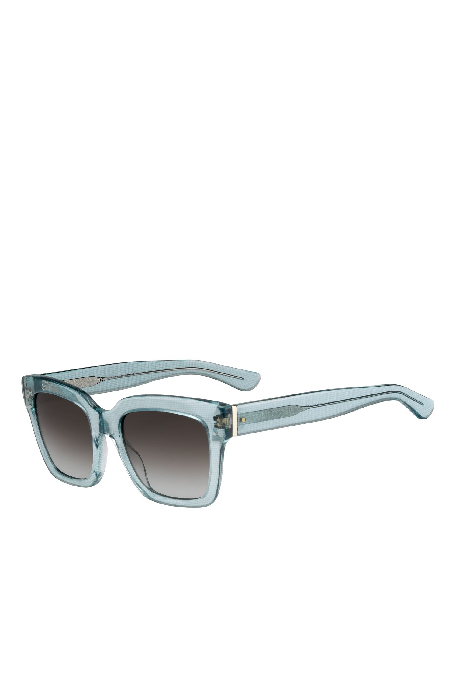Gray Gradient Lens Rectangular Sunglasses  | BOSS 0674S