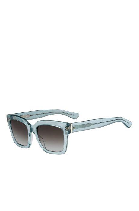 Gray Gradient Lens Rectangular Sunglasses  | BOSS 0674S, Assorted-Pre-Pack