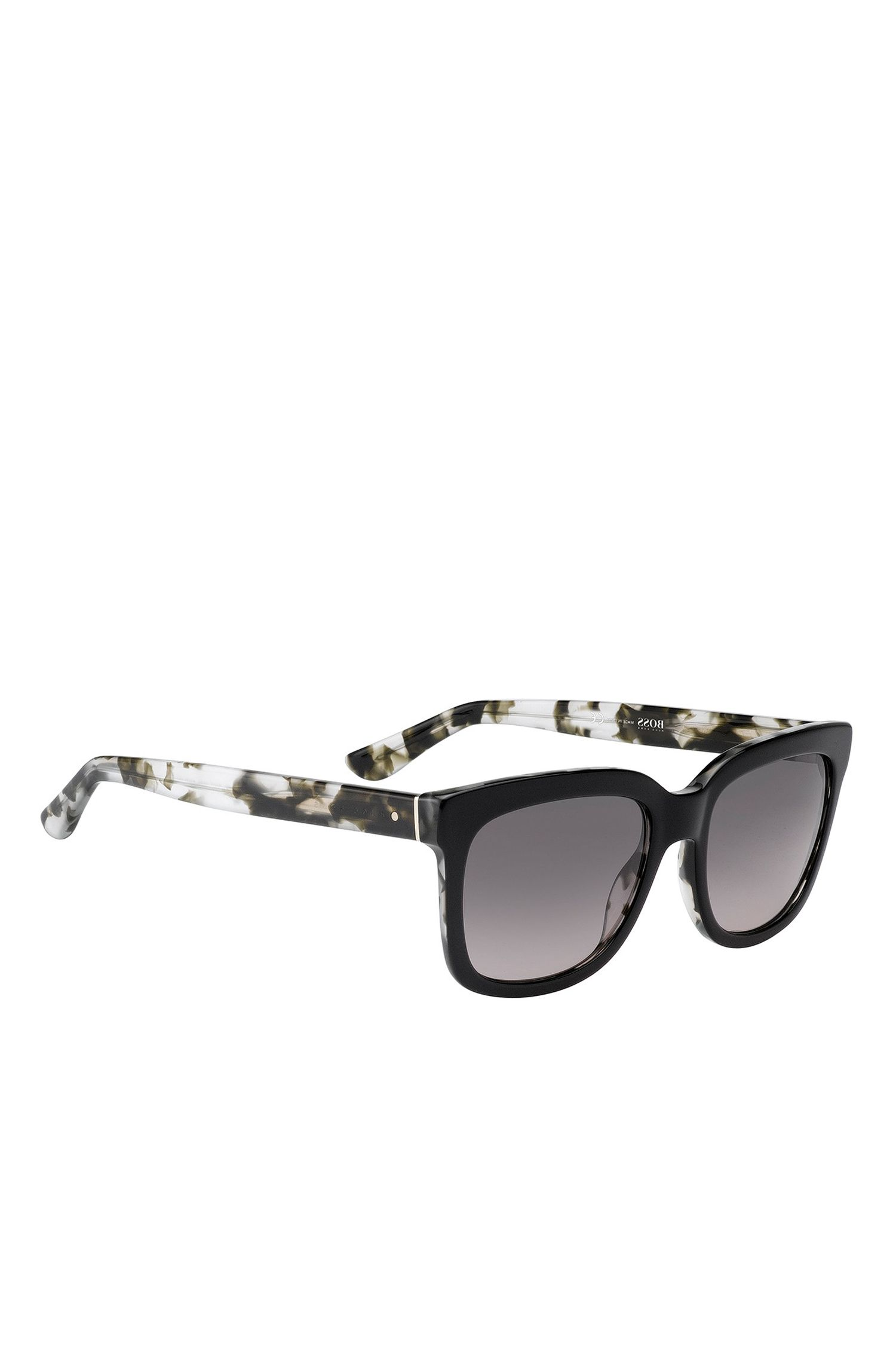 'BOSS 0741S' | Gradient Lens Rectangular Sunglasses