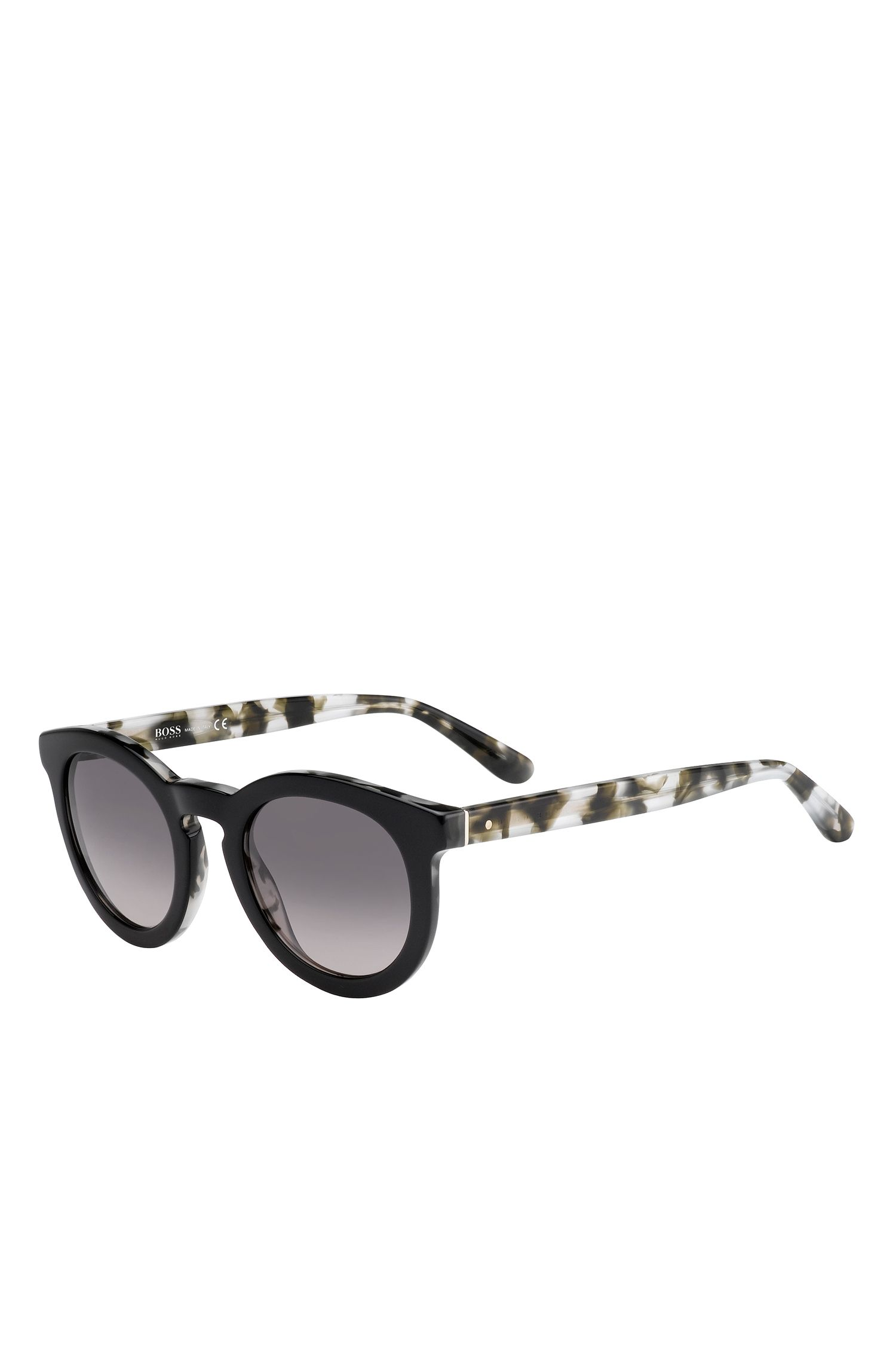 'BOSS 0742S'   Gradient Lenses Roud Cateye Sunglasses