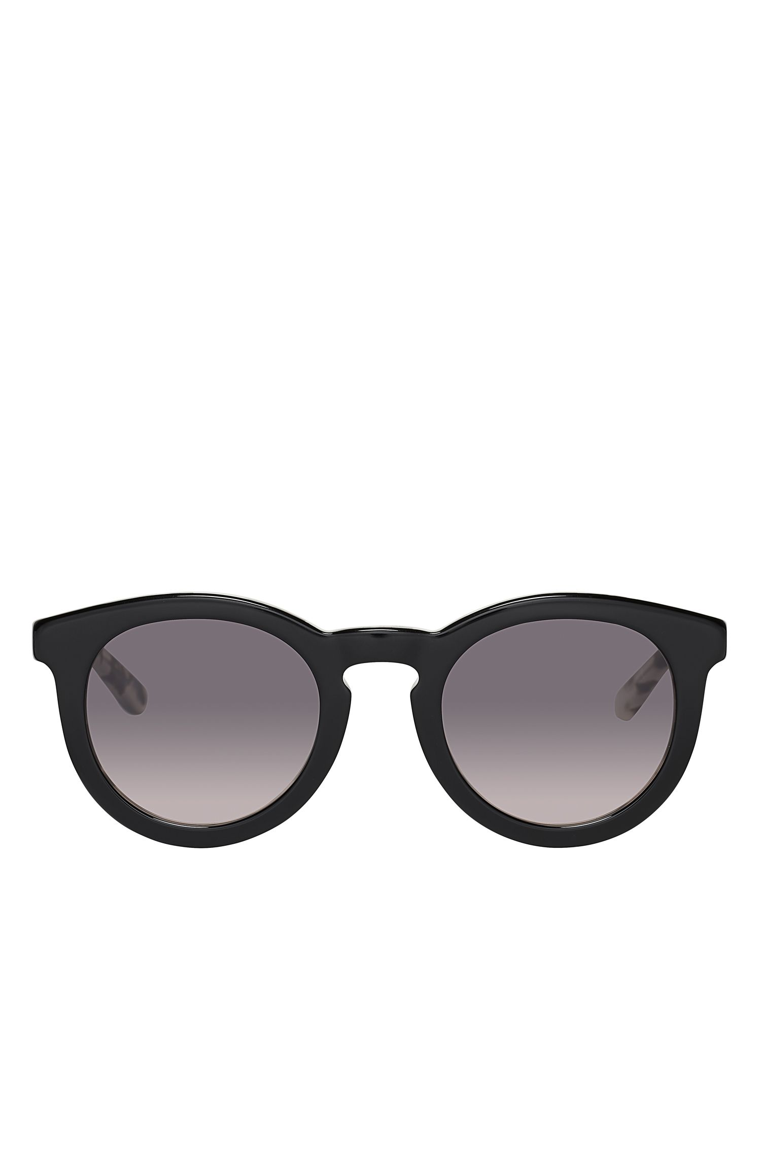 Gradient Lenses Roud Cateye Sunglasses | BOSS 0742S