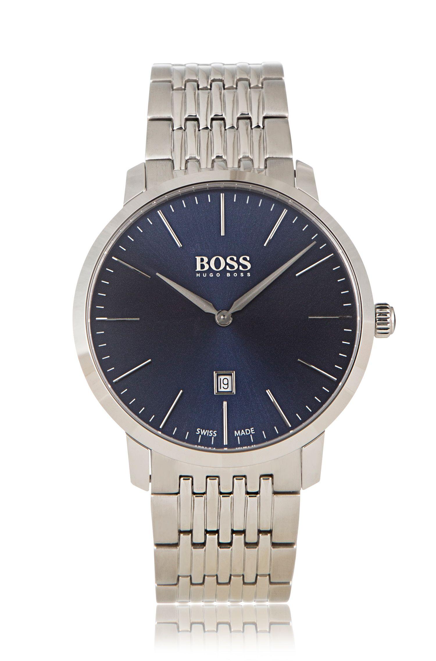 '1513261'    Stainless Steel Swiss Quartz Watch