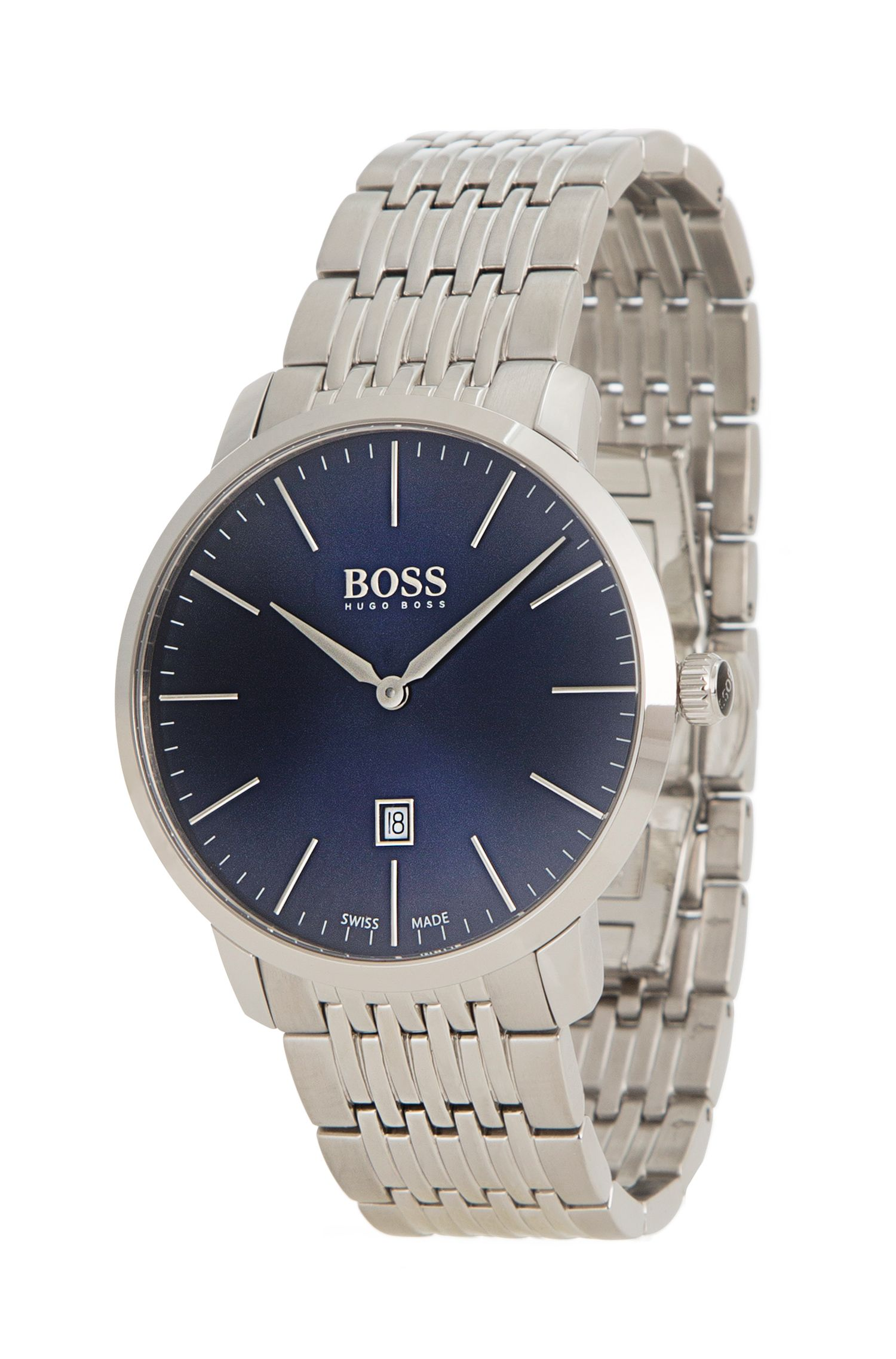 Stainless Steel Swiss Quartz Watch | 1513261