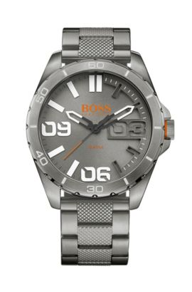 '1513289' | Brushed Stainless Steel Quartz Watch, Assorted-Pre-Pack