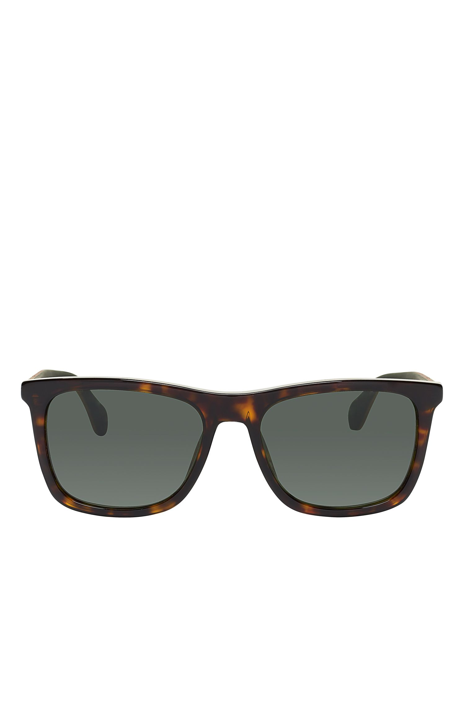Gray Green Lens Walnut Sunglasses | BOSS 0776S, Assorted-Pre-Pack