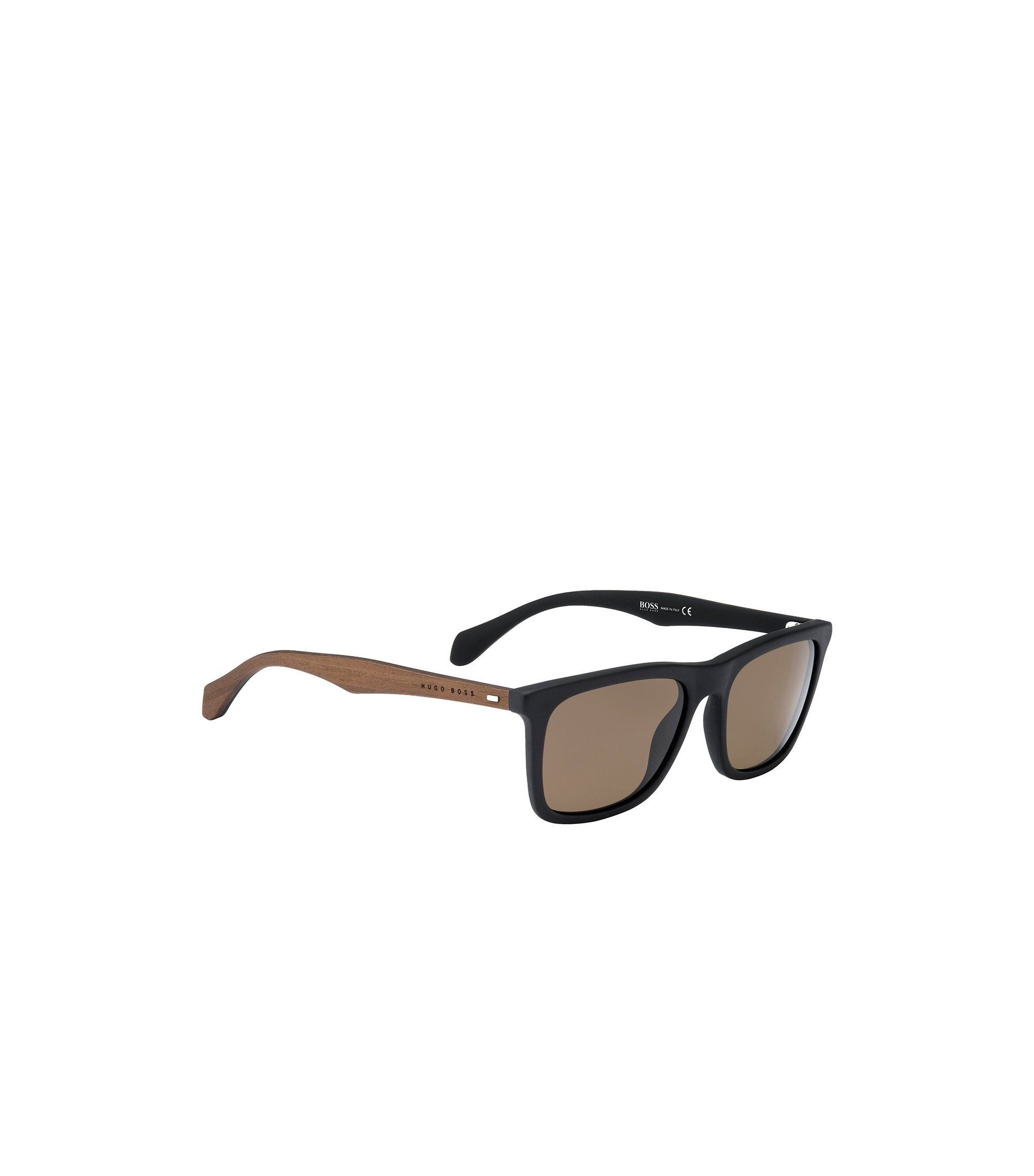 Bronze Polar Lens Rectangular Sunglasses | BOSS 0776S, Assorted-Pre-Pack
