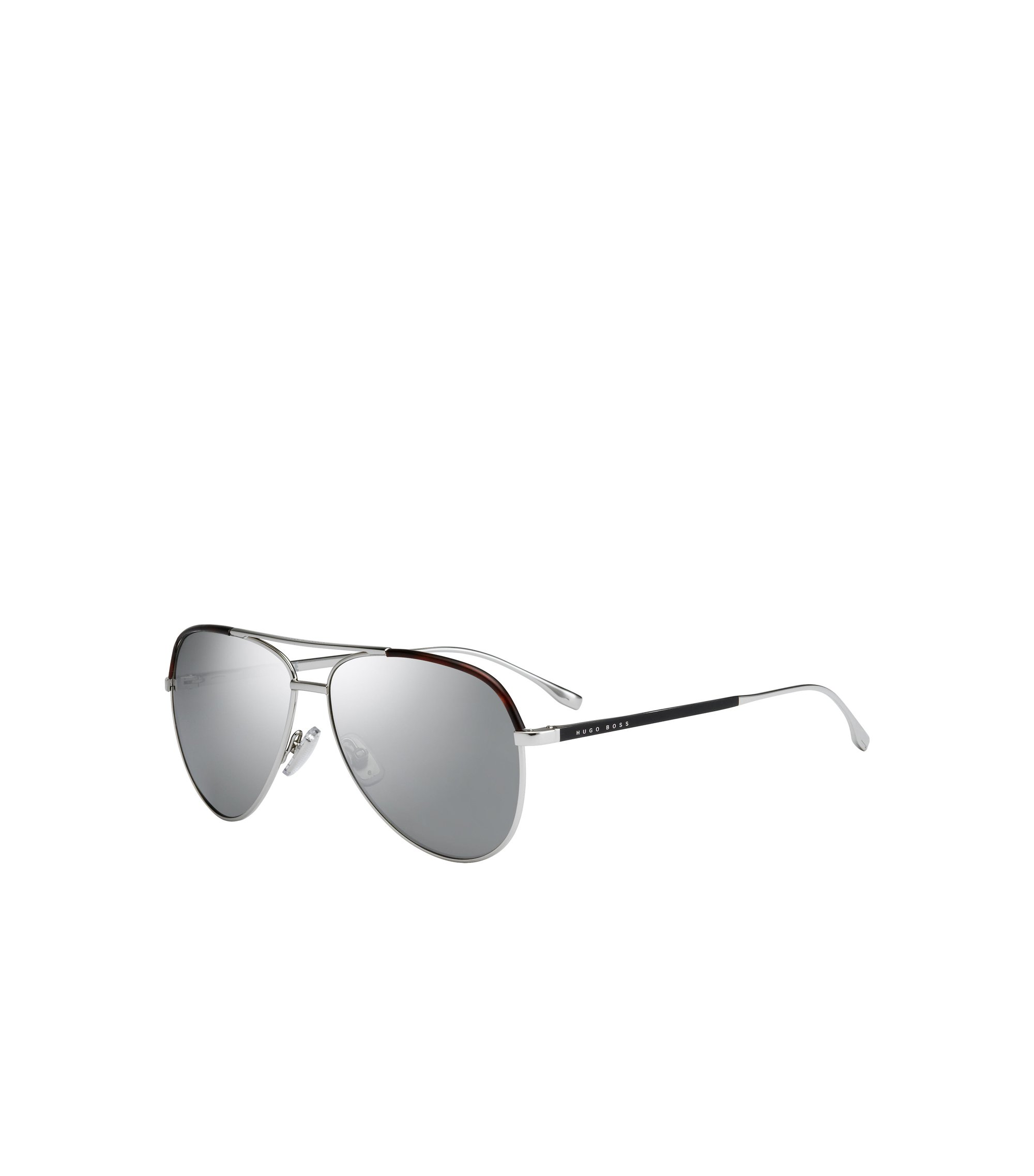 Sliver Mirror Lens Aviator Sunglasses | BOSS 0782S, Assorted-Pre-Pack