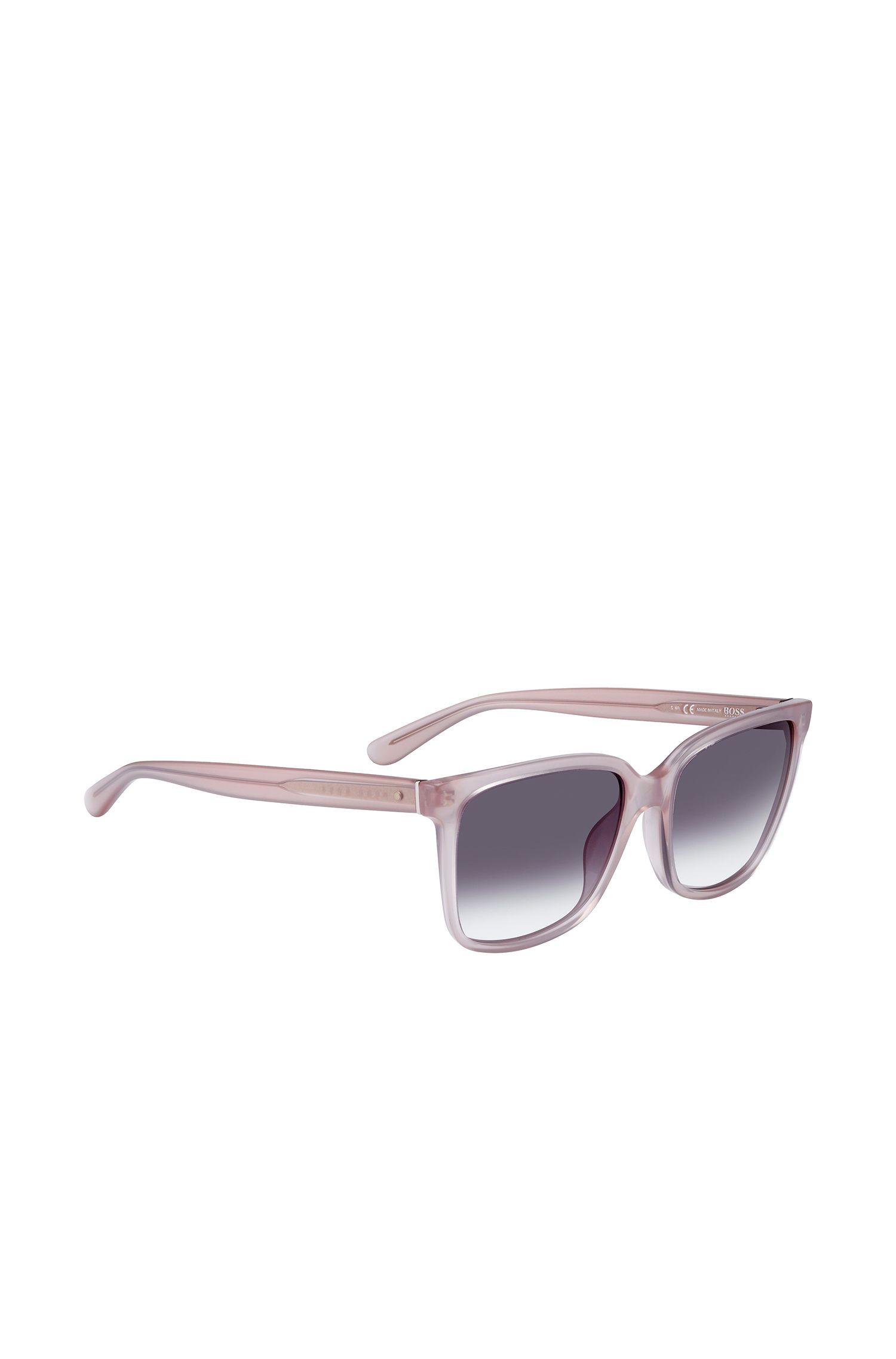 'BOSS 0787S' | Gray Gradient Lens Square Sunglasses