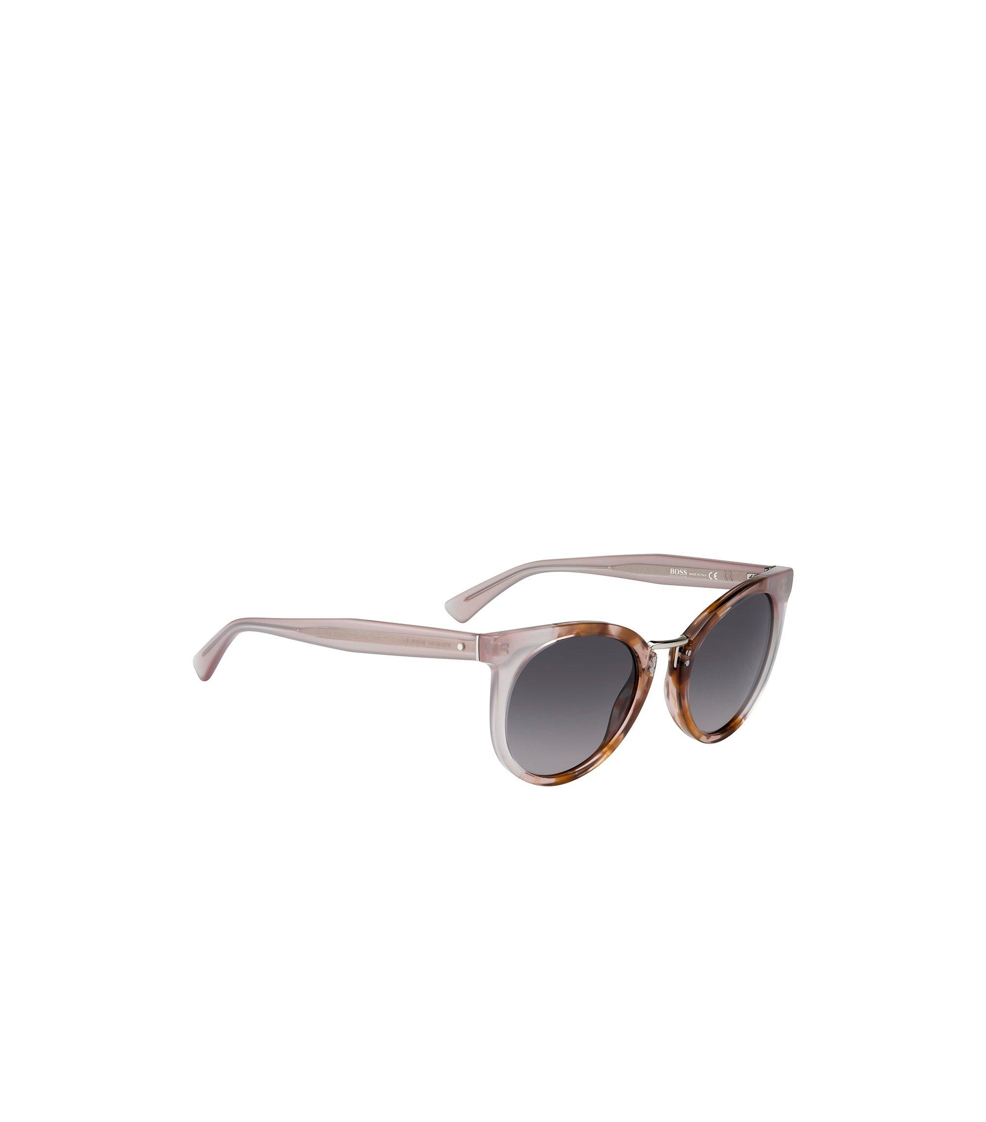 Gray Lens Rounded Cateye Havana Sunglasses | BOSS 0793S, Assorted-Pre-Pack