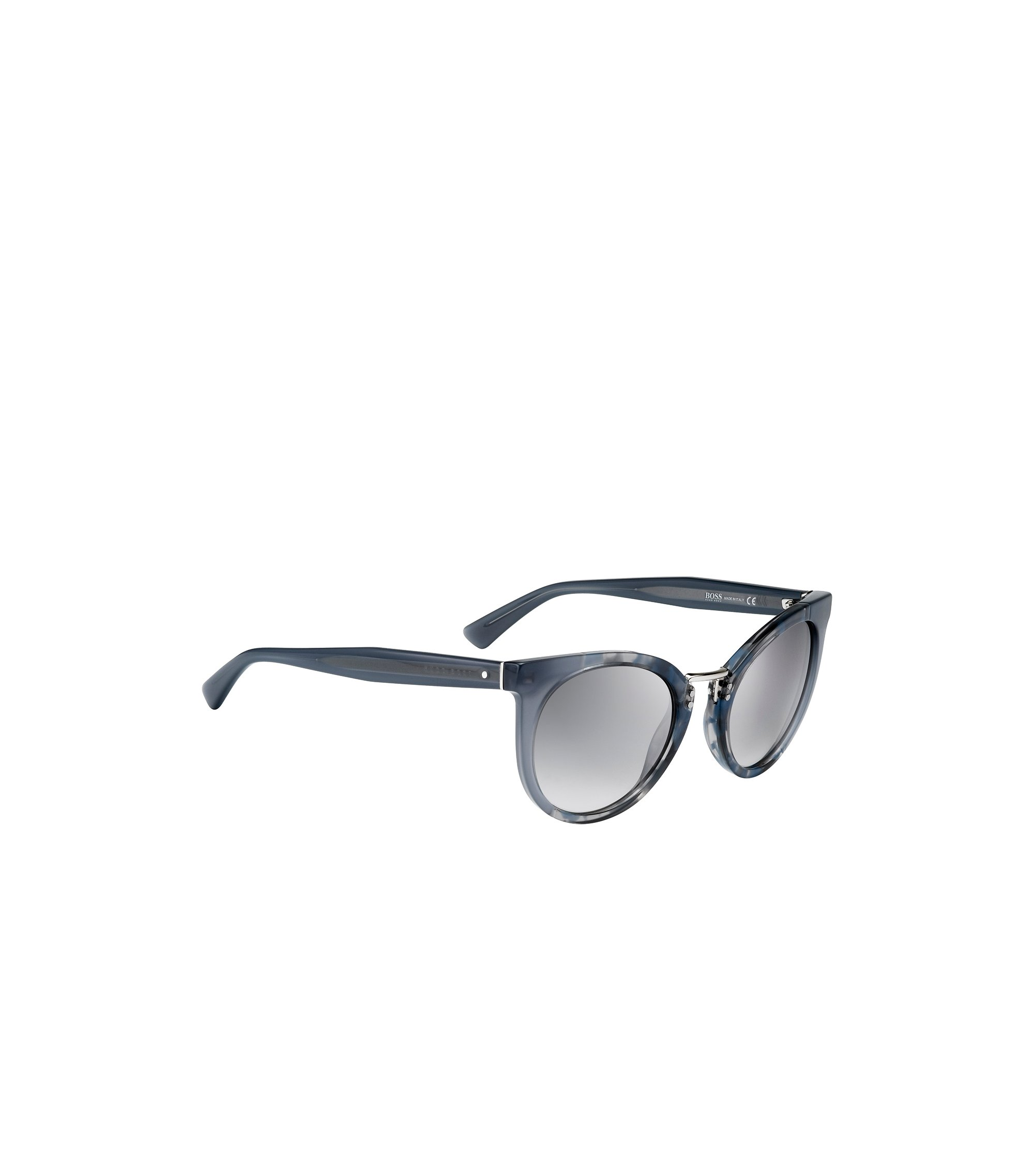 Gray Lens Rounded Cateye Havana Sunglasses | BOSS 0793S, Assorted-Pre-Pack