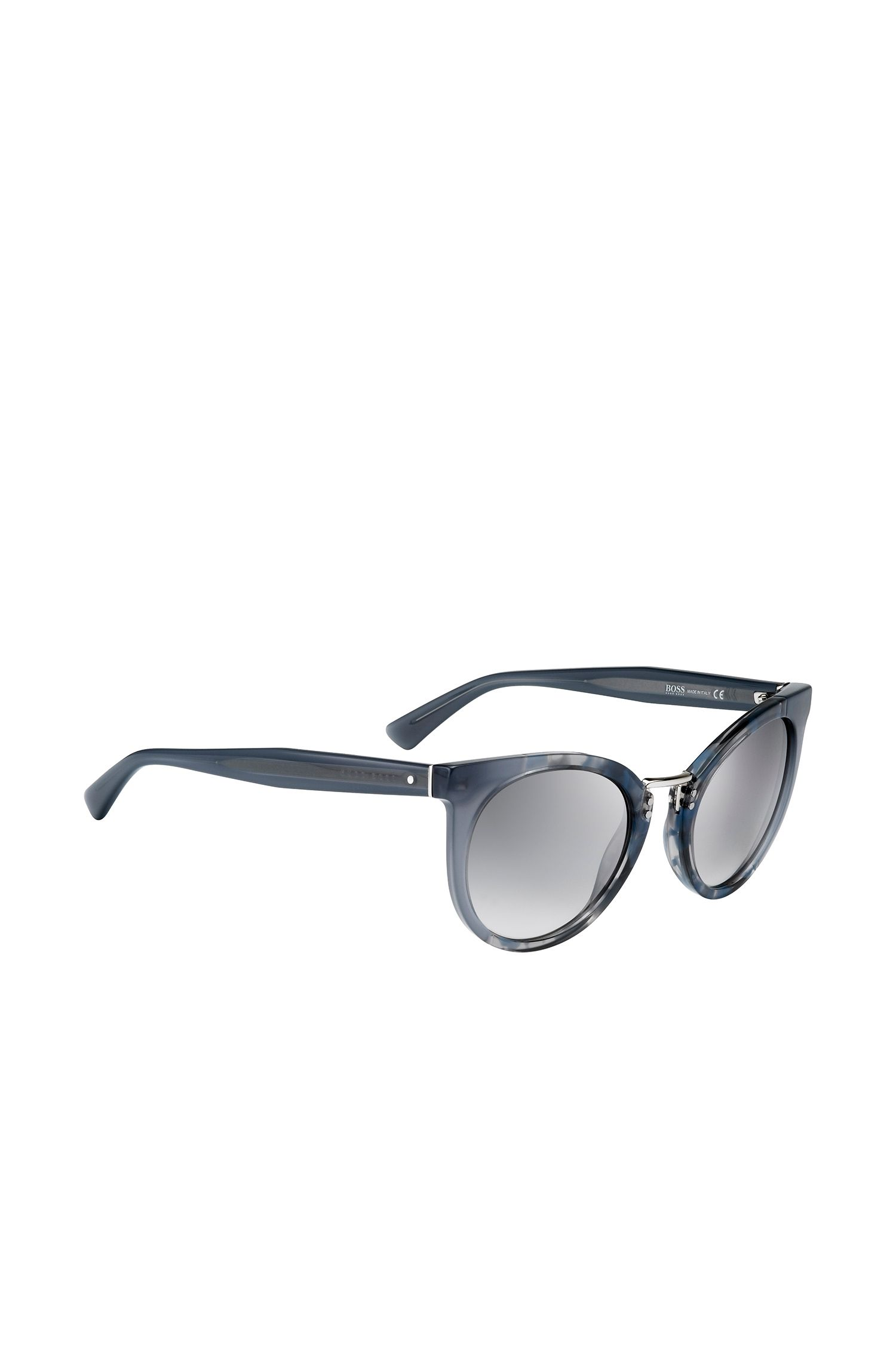 'BOSS 0793S' | Gray Lens Rounded Cateye Havana Sunglasses