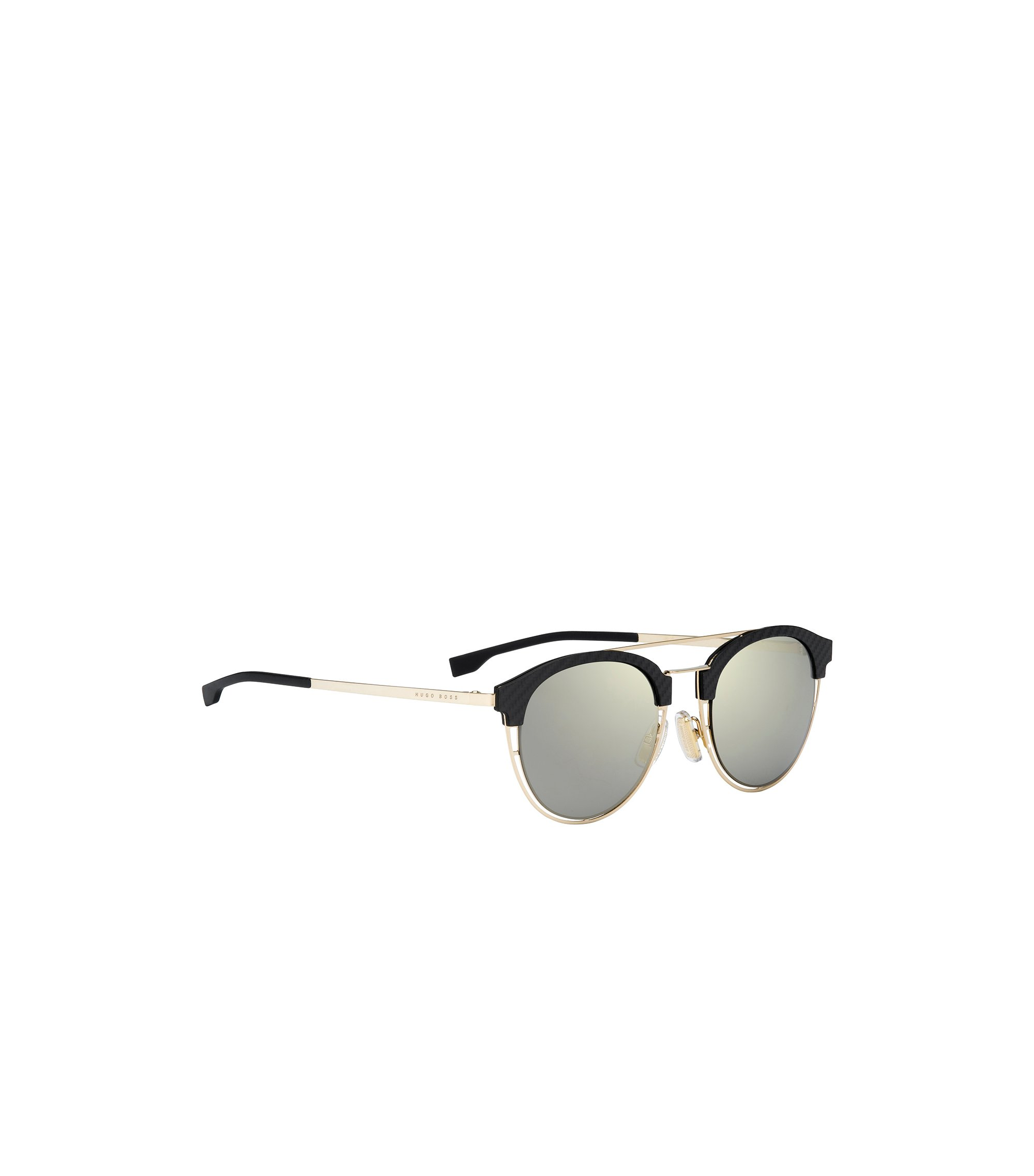 Grey Bronze Lens Clubmaster Sunglasses | BOSS 0784S, Assorted-Pre-Pack
