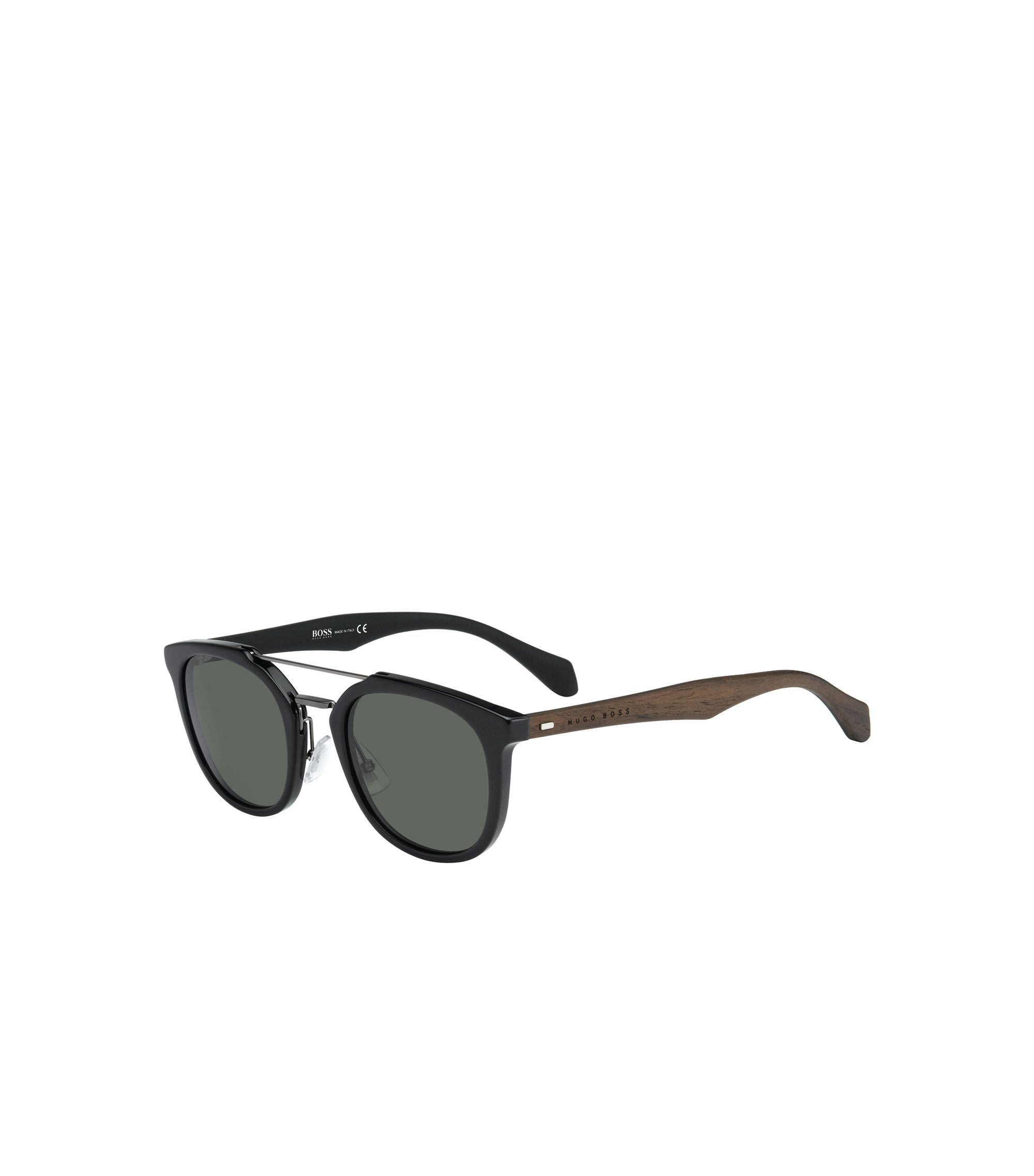 Gray Green Lens Clubmaster Sunglasses | BOSS 0777S, Assorted-Pre-Pack