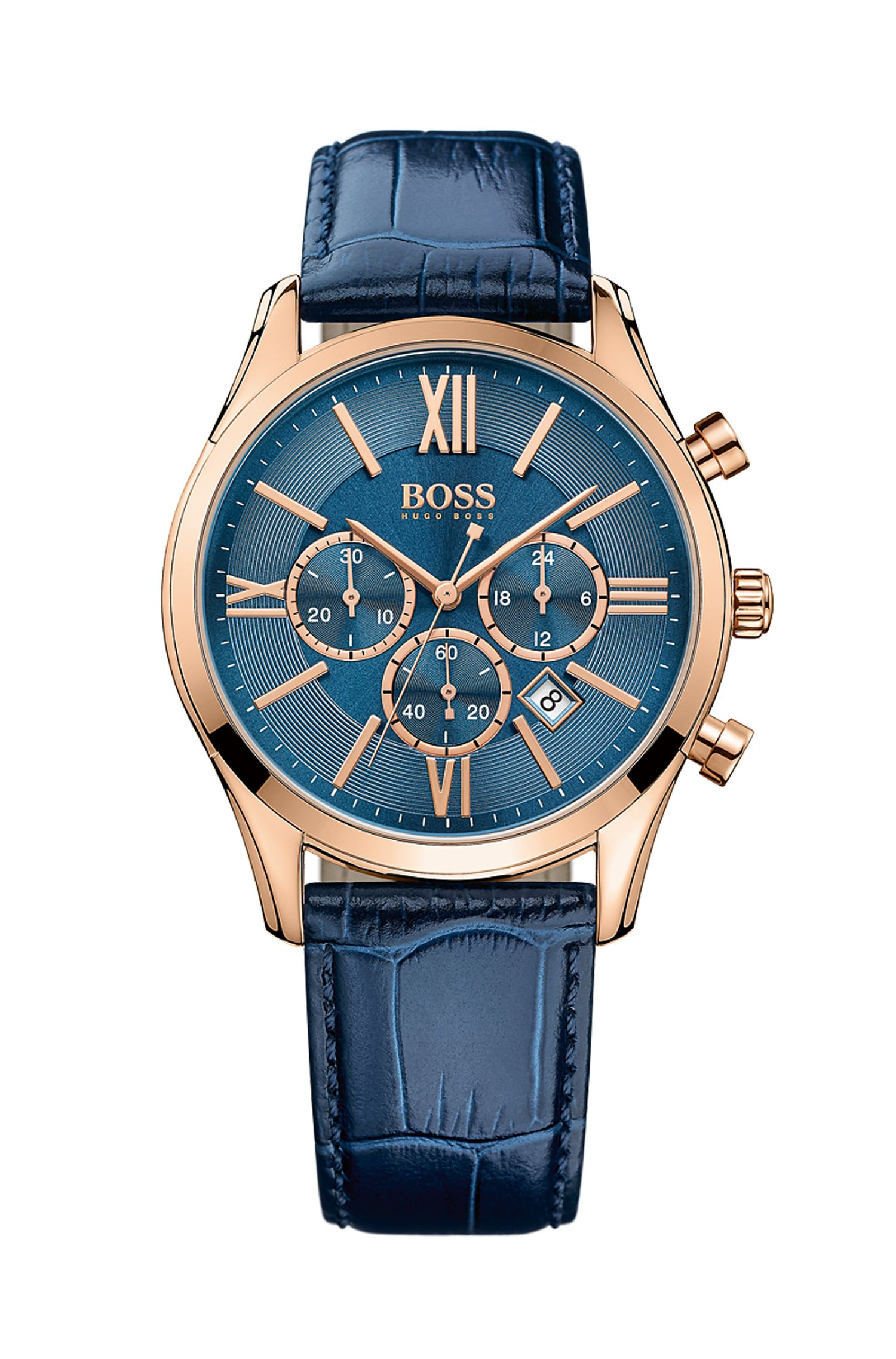 '1513320'   Chronograph Stainless Steel Gold-Plated Watch