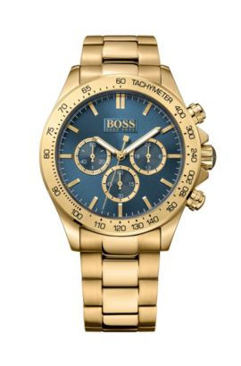 '1513340' | Chronograph Stainless Steel Gold-Plated Watch, Assorted-Pre-Pack