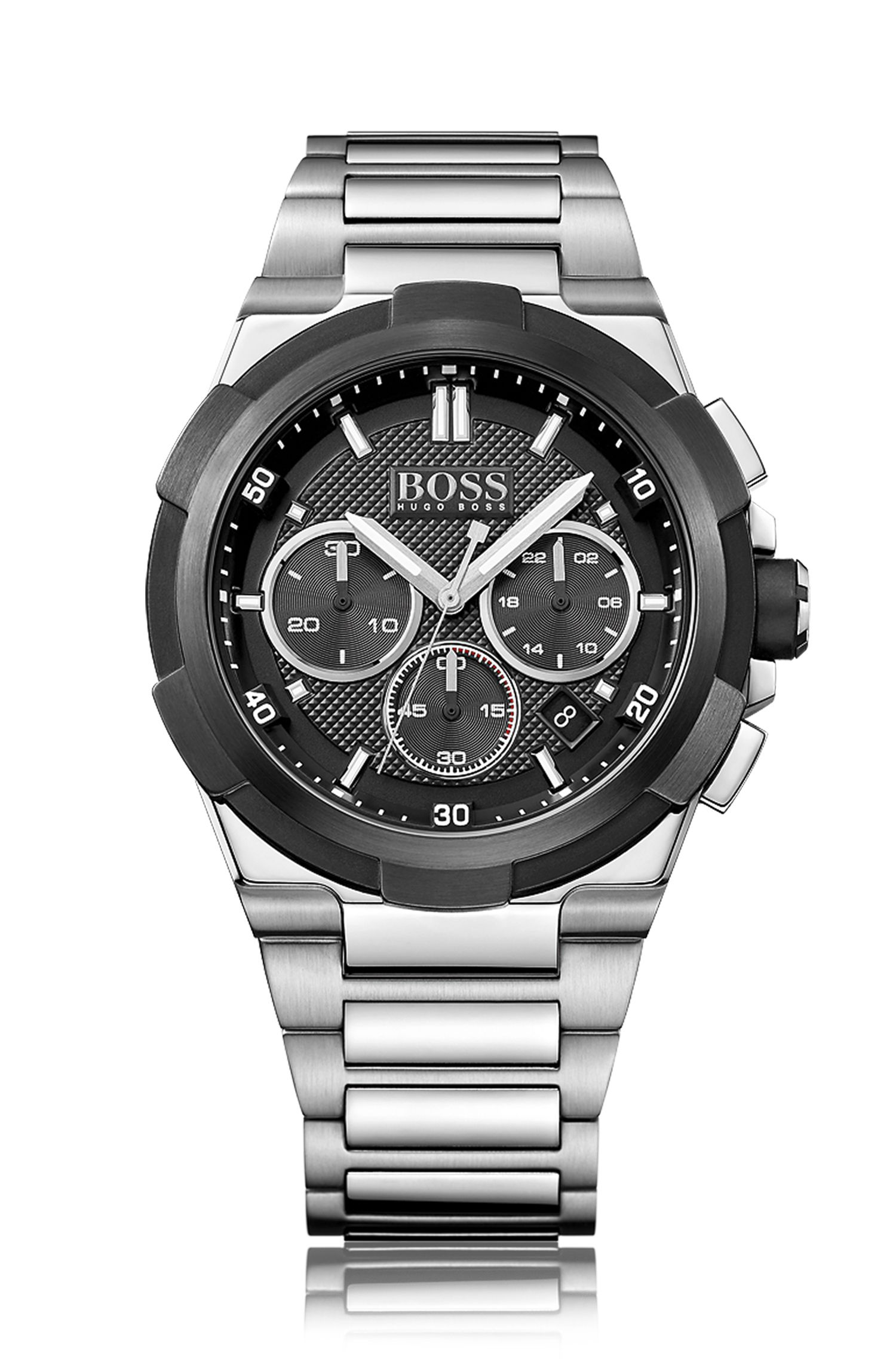Stainless Steel Chronograph Watch   1513359