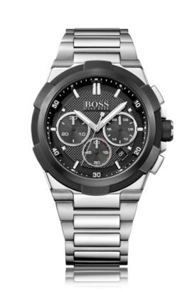 '1513359' | Chronograph Stainless Steel Quartz Watch, Assorted-Pre-Pack