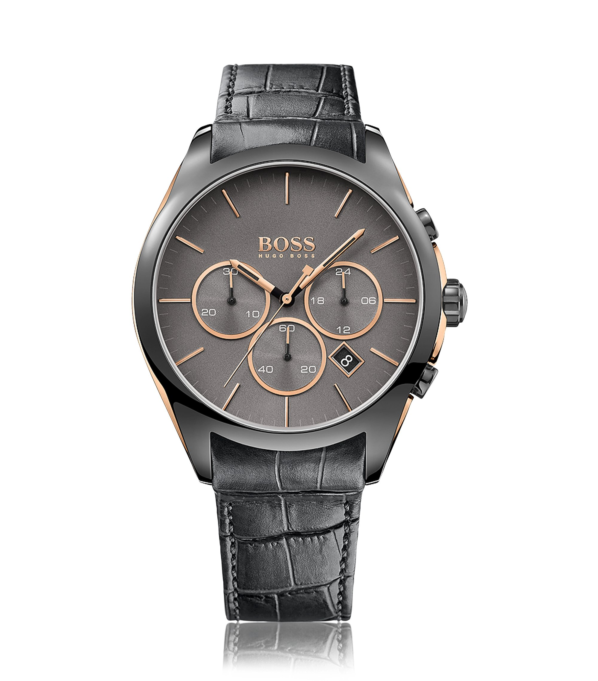 Onyx, Leather Chronograph Watch | 1513366, Assorted-Pre-Pack