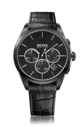 Onyx, Leather Chronograph Watch | 1513367, Assorted-Pre-Pack