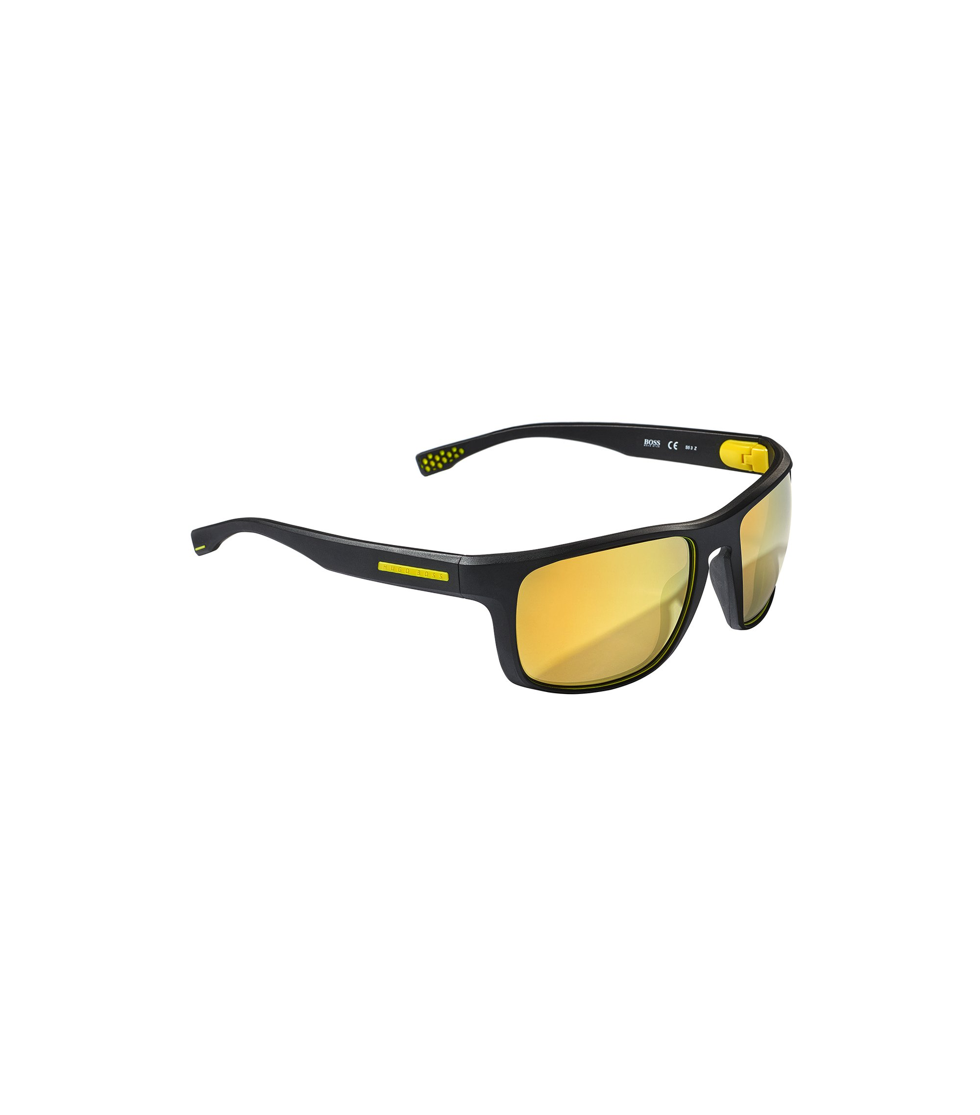 Mirror Lens Rectangular Sunglasses | BOSS 0800S, Assorted-Pre-Pack
