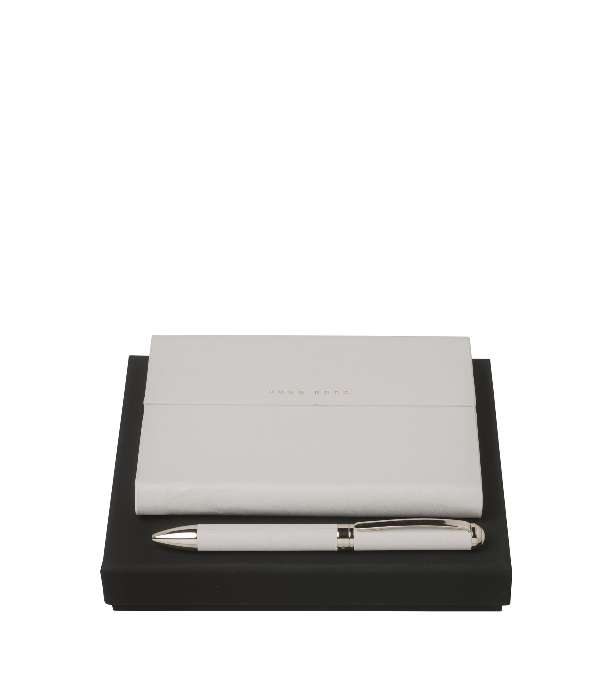 Verse Ballpoint Pen & Notebook Set | HPBM606K, Grey
