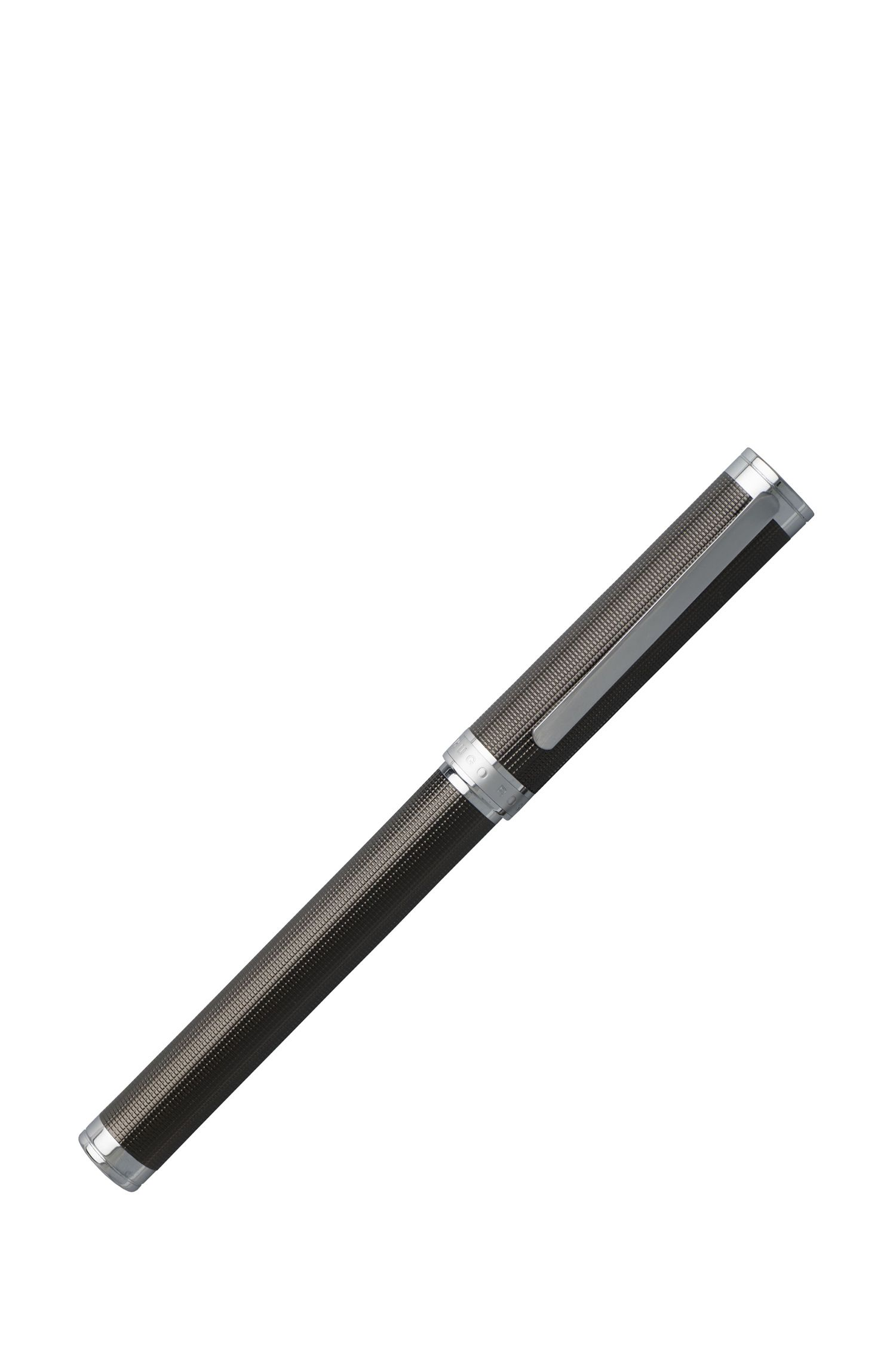 Column Dark Chrome Ballpoint Pen | HSW6515