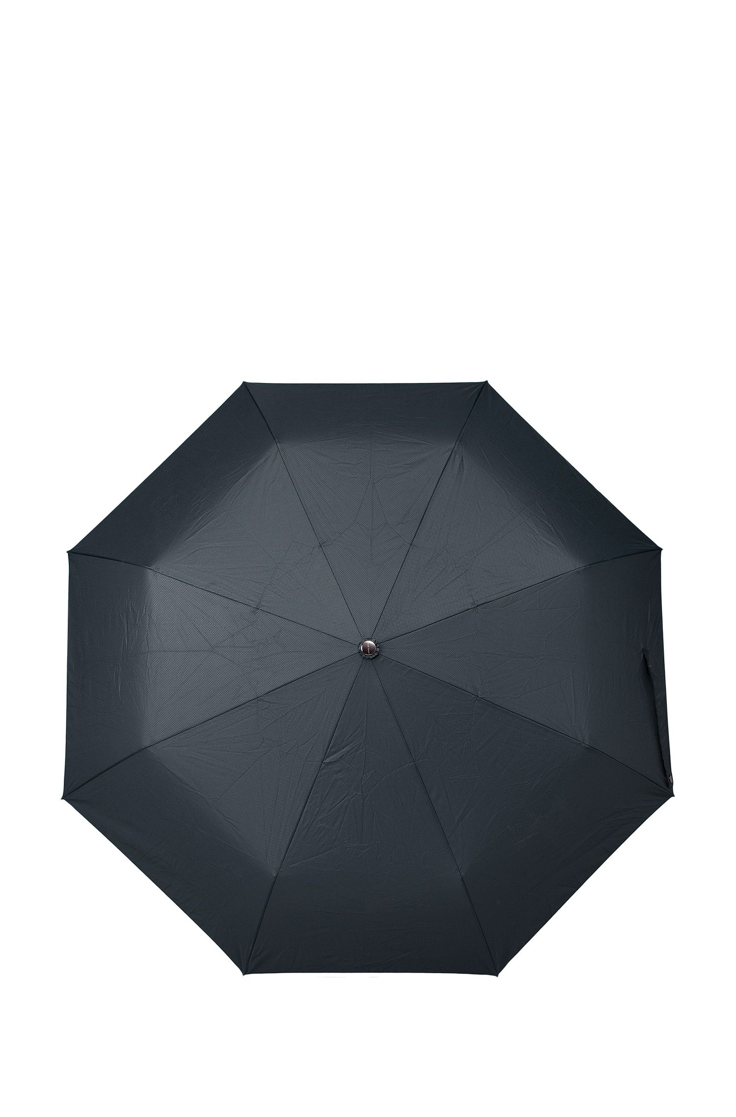 Aluminum Frame Patterned Pocket Umbrella | Umbrella New Loop Dark, Blue