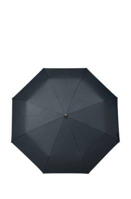Aluminum Frame Patterned Pocket Umbrella | Umbrella New Loop Dark, Blue