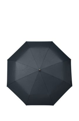 'Umbrella New Loop Dark' | Aluminum Frame Patterned Pocket Umbrella, Blue