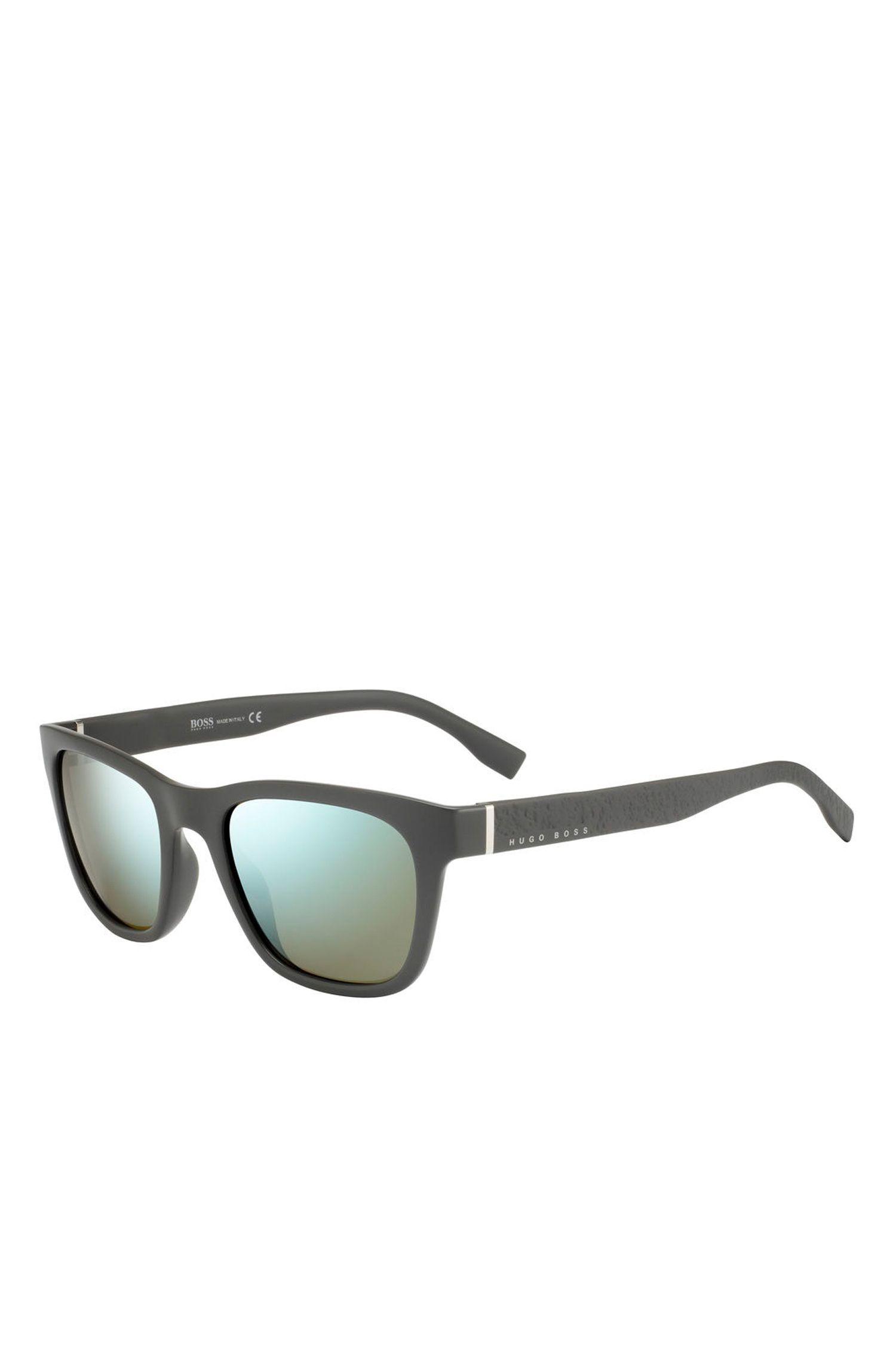 '0830S' | Mirror Lens Optyl Square Sunglasses