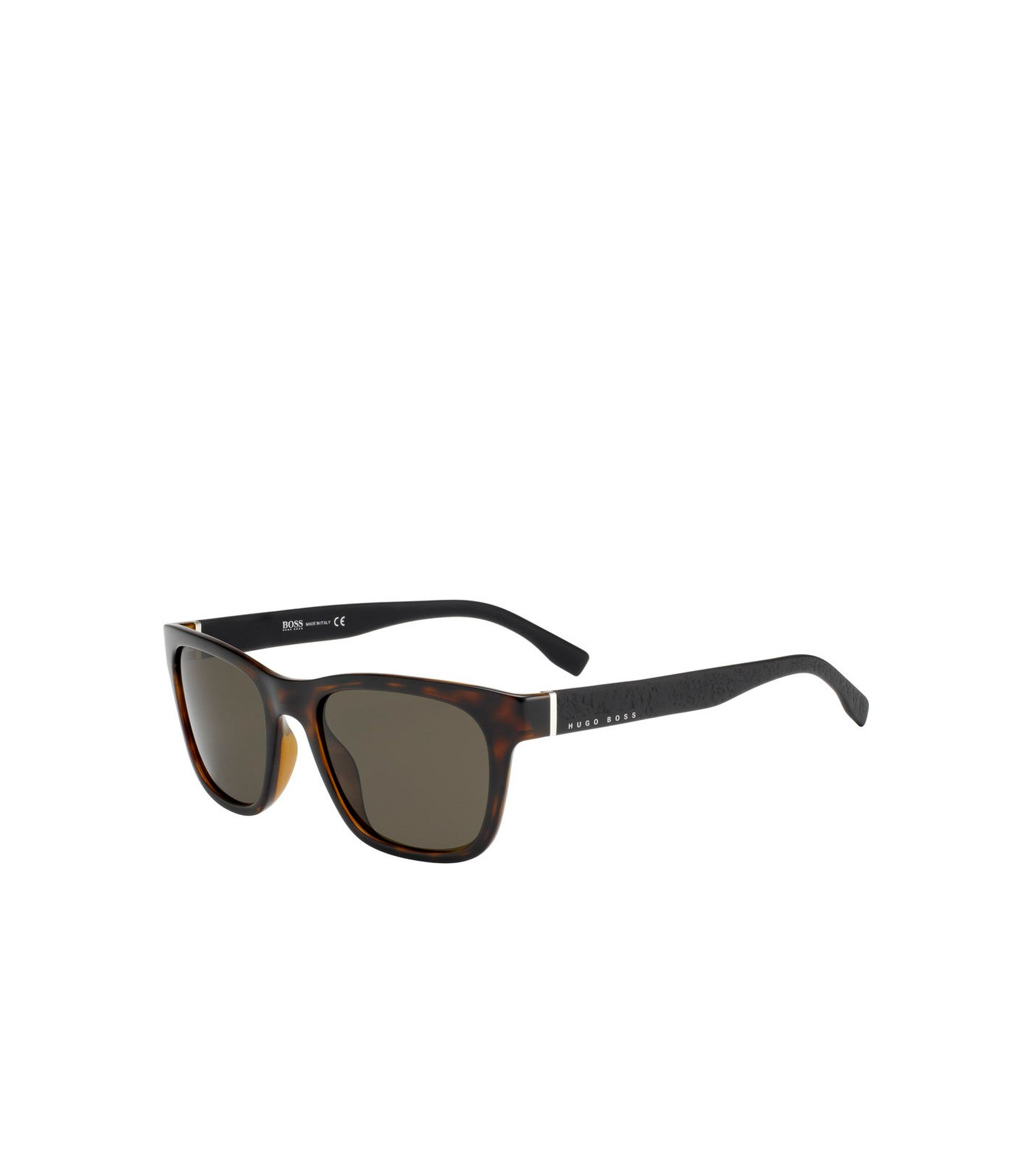 Black Lens Havana Square Sunglasses | BOSS 0830, Assorted-Pre-Pack