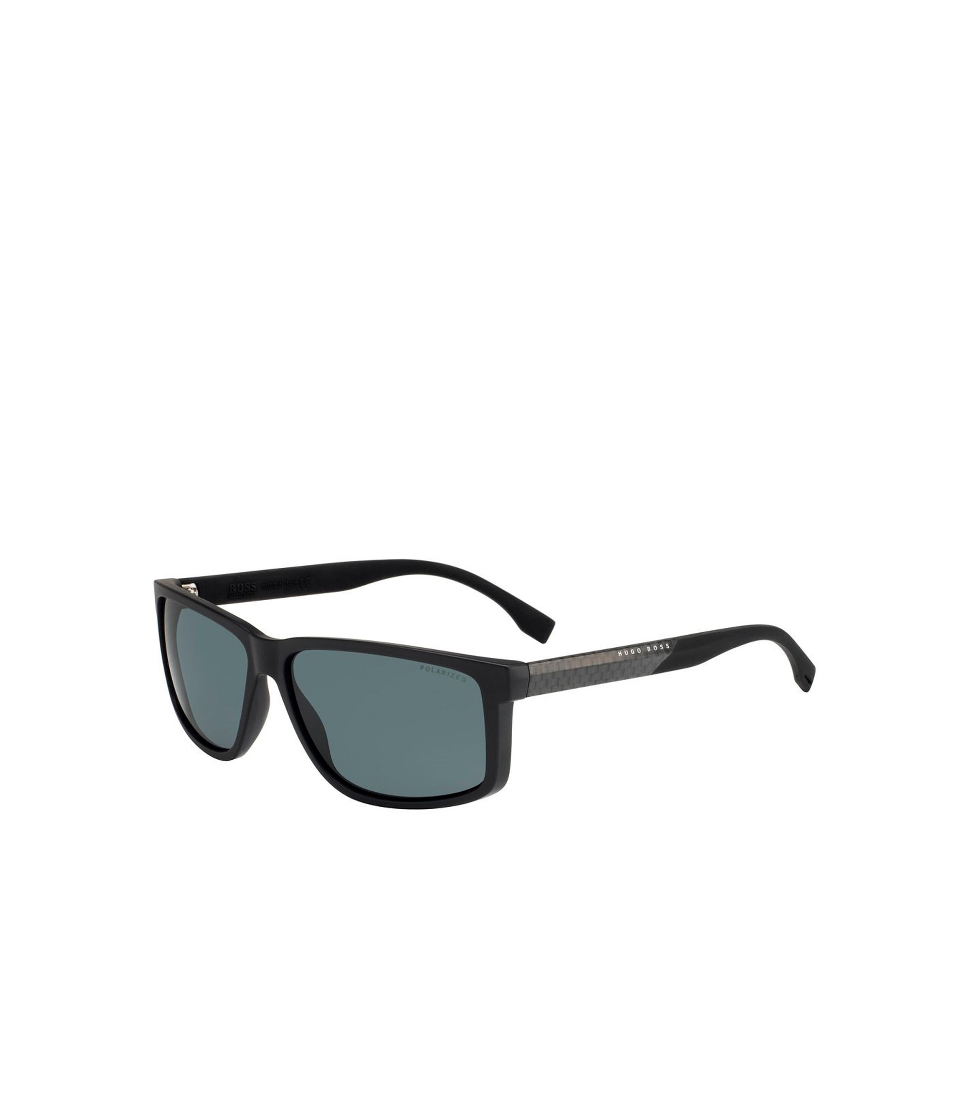 'BOSS 0833S' | Rectangular Carbon Fiber Polarized Sunglasses, Assorted-Pre-Pack