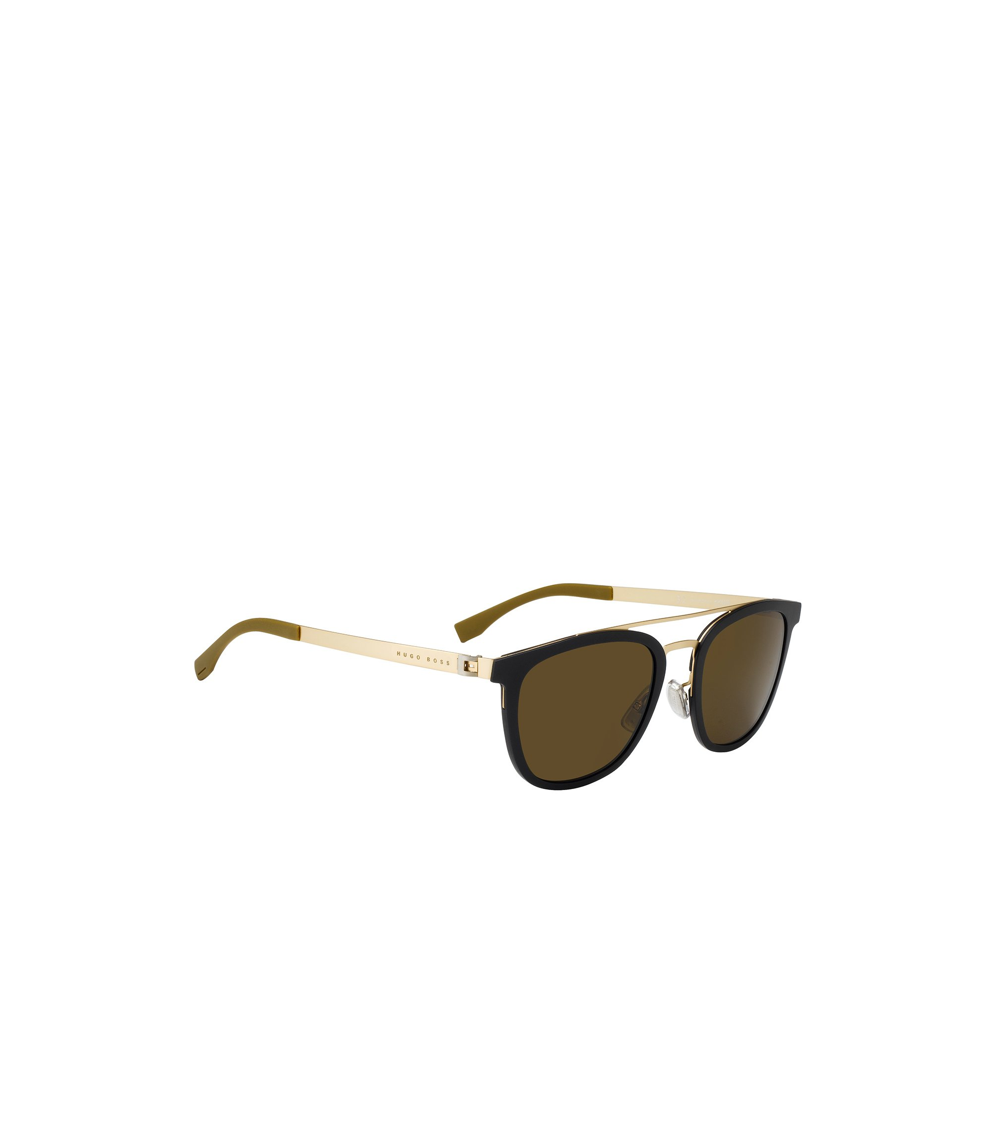 Gold Tone Stainless Steel Round Sunglasses | BOSS 0838, Assorted-Pre-Pack