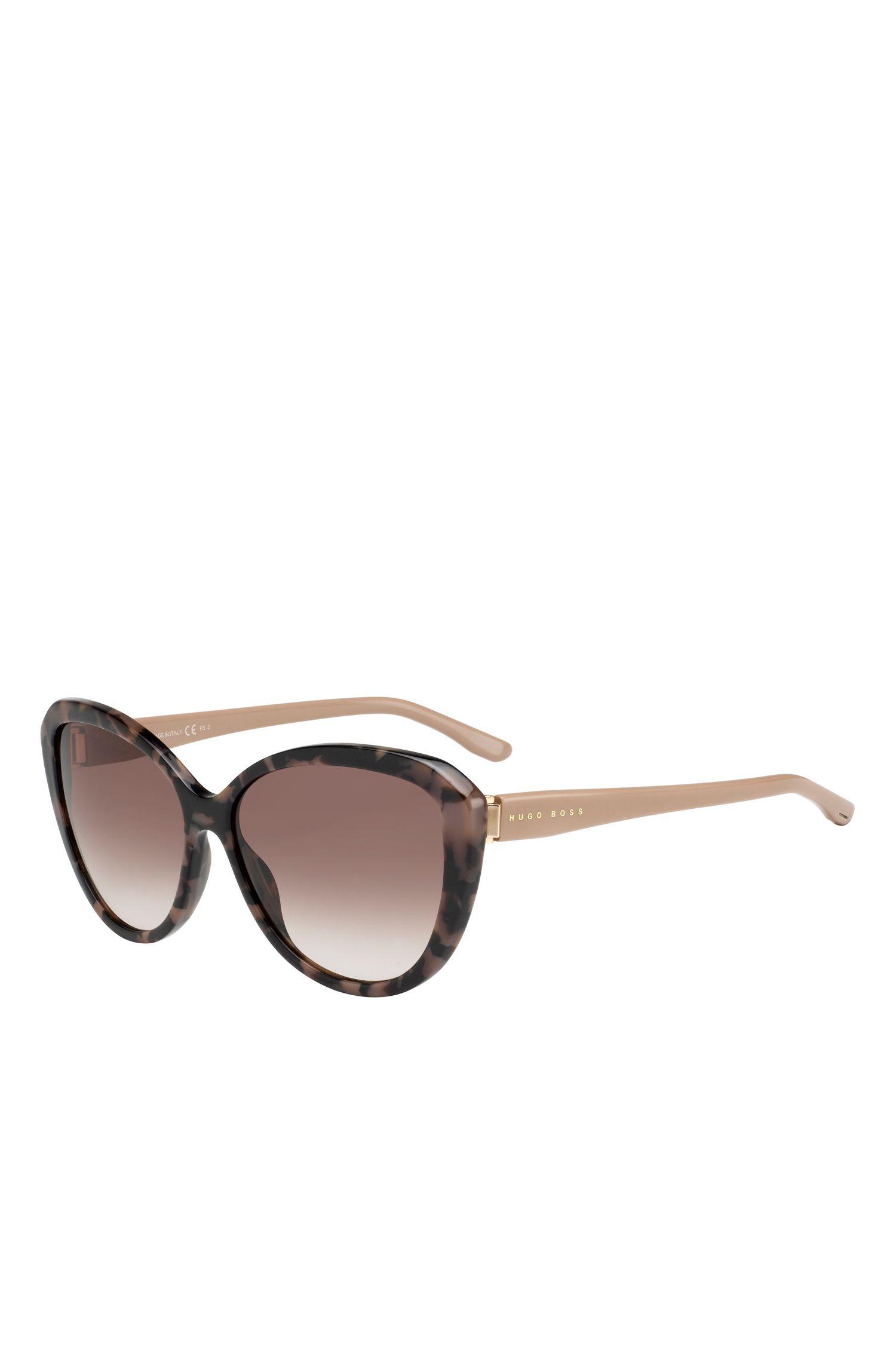 'BOSS 0845S' | Gradient Lens Acetate Sunglasses