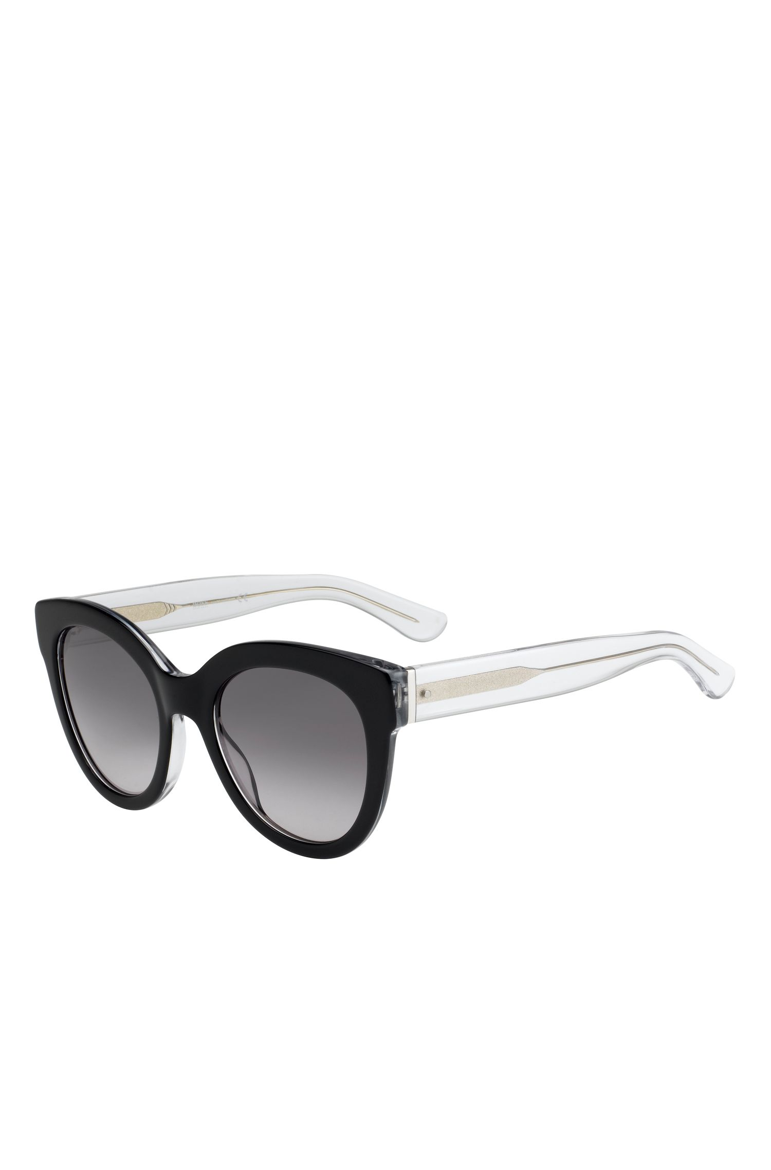 'BOSS 067S' | Cateye Gradient Lens Sunglasses