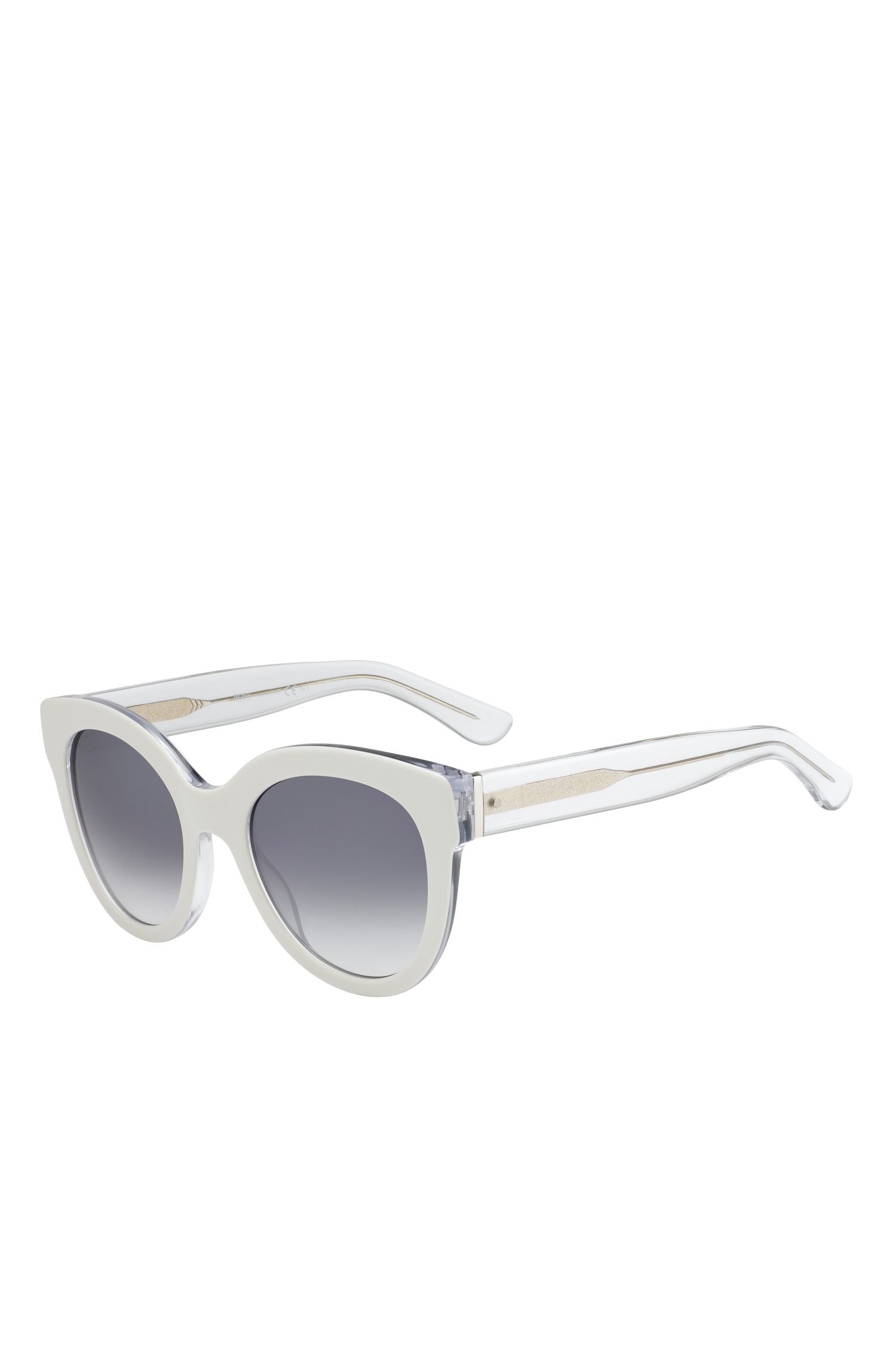 'BOSS 067S' | Cateye Gradient Lens Sunglasses