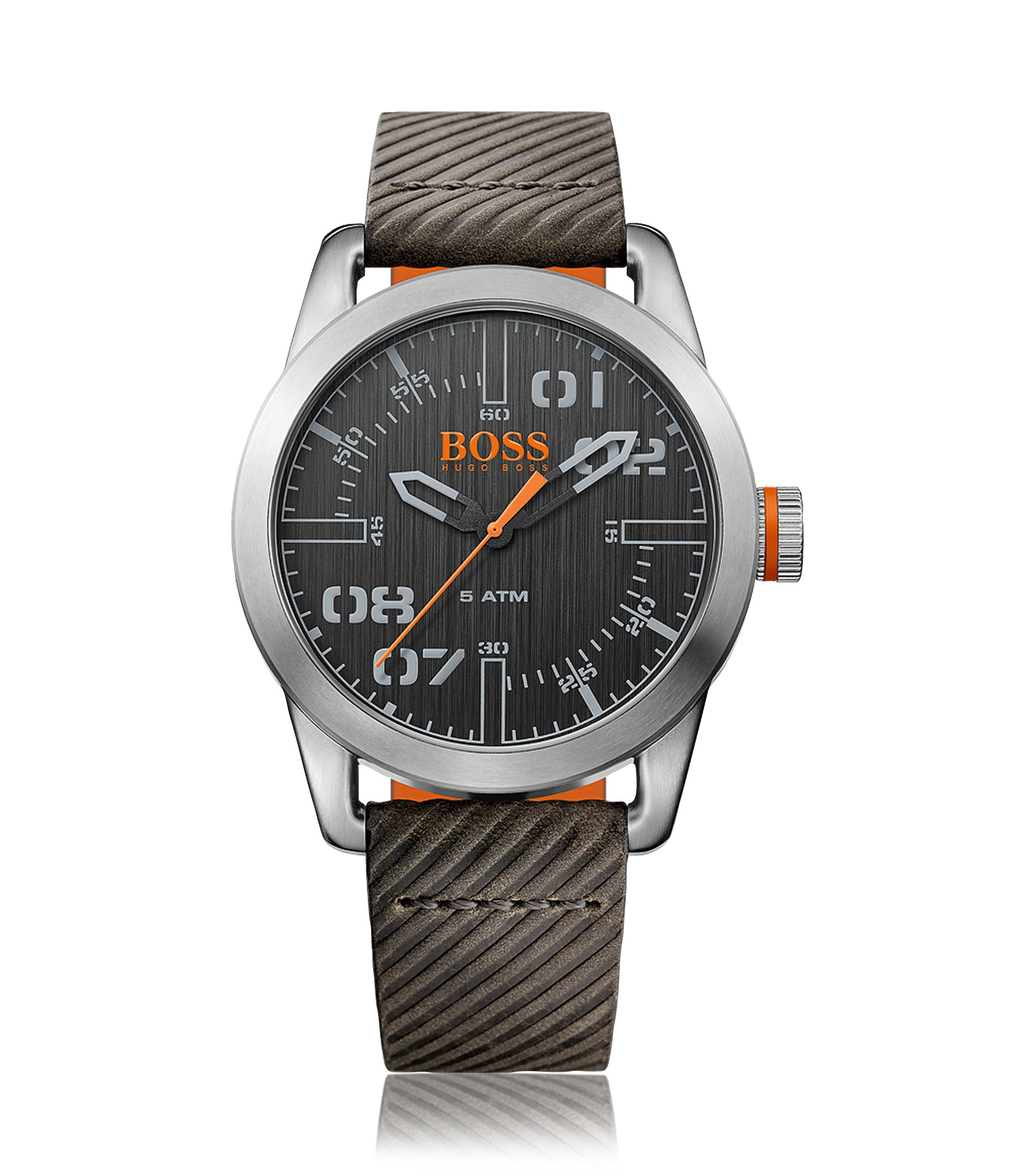 Oslo, Ribbed Leather Watch | 1513417, Assorted-Pre-Pack