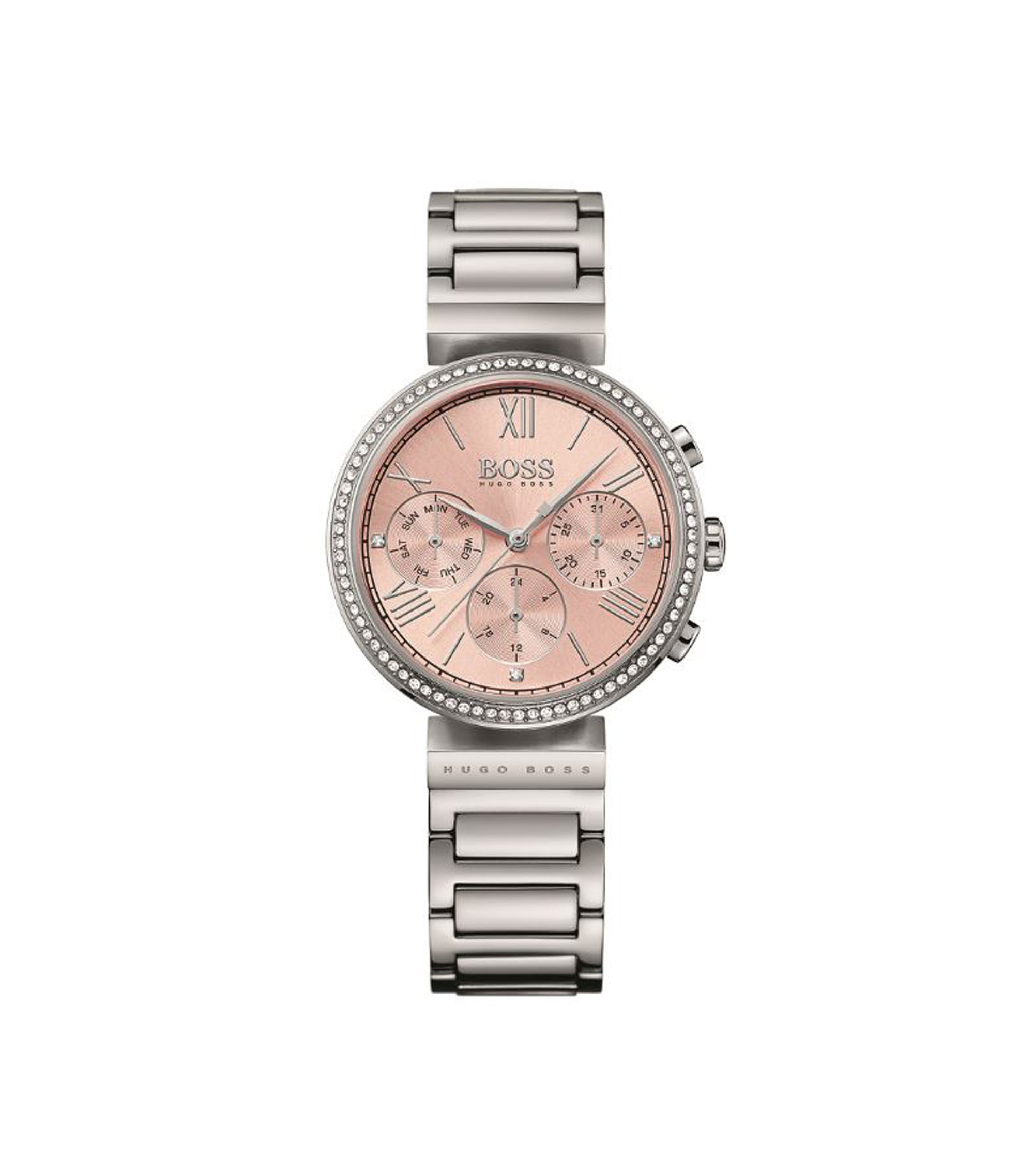 Classic Women Sport, Crystal & Steel Chronograph Watch   1502403, Assorted-Pre-Pack