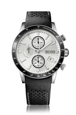 men s designer watches leather chronograph watches hugo boss® 1513403